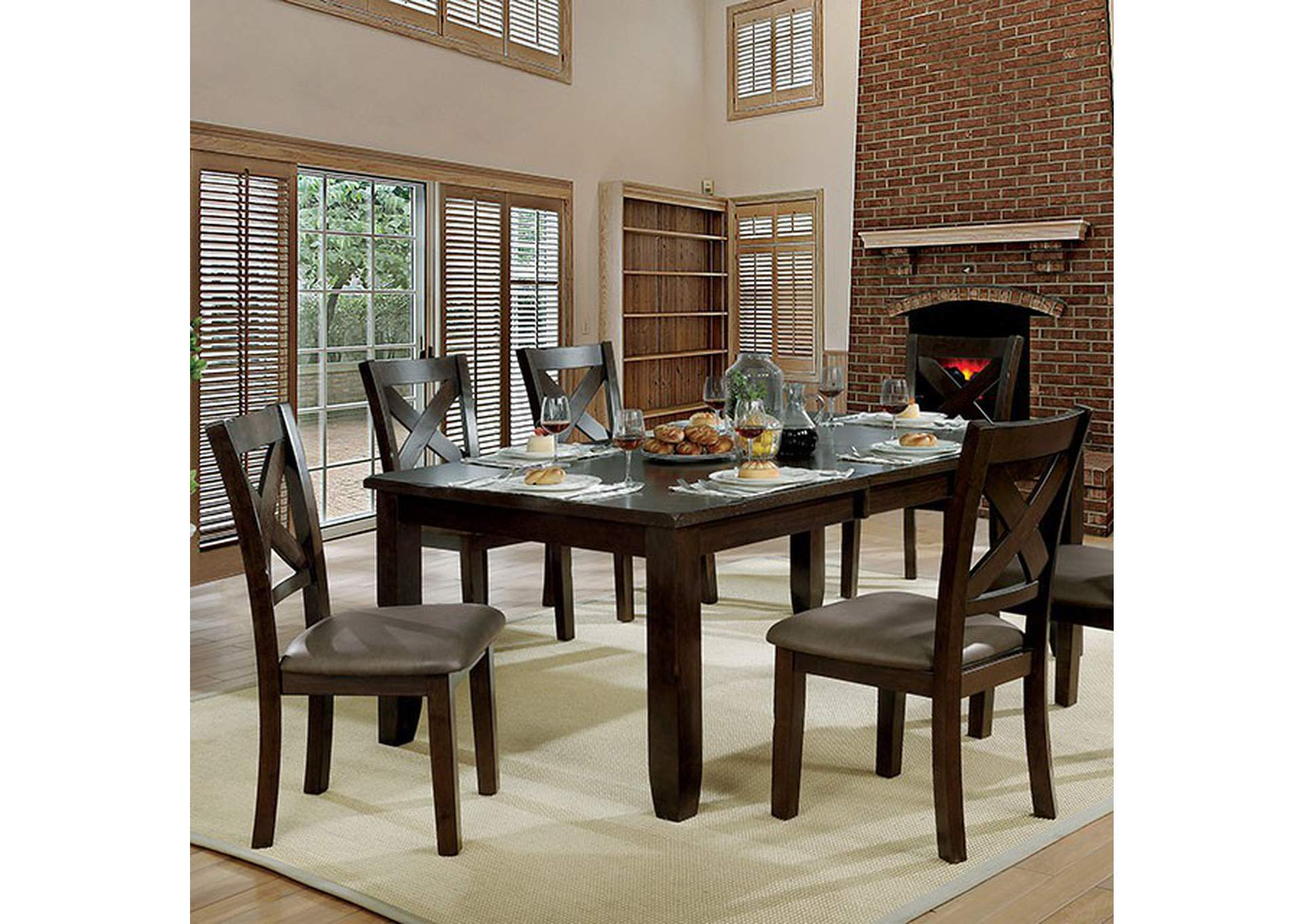 Josie Dining Table,Furniture of America