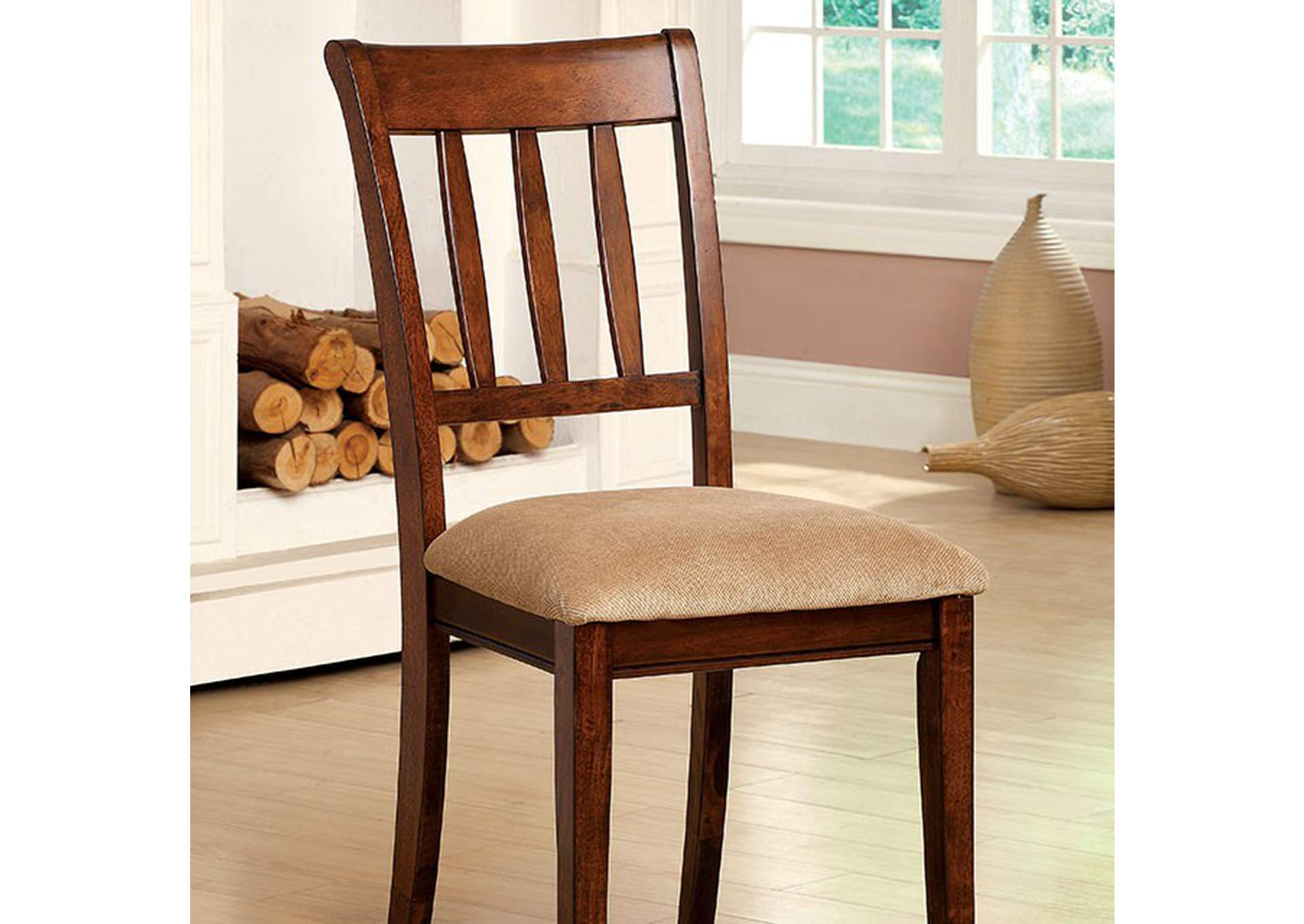 Plainville Side Chair [Set of 2],Furniture of America
