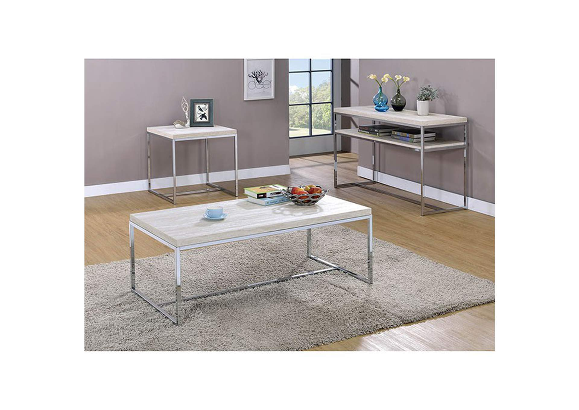 Olle End Table,Furniture of America