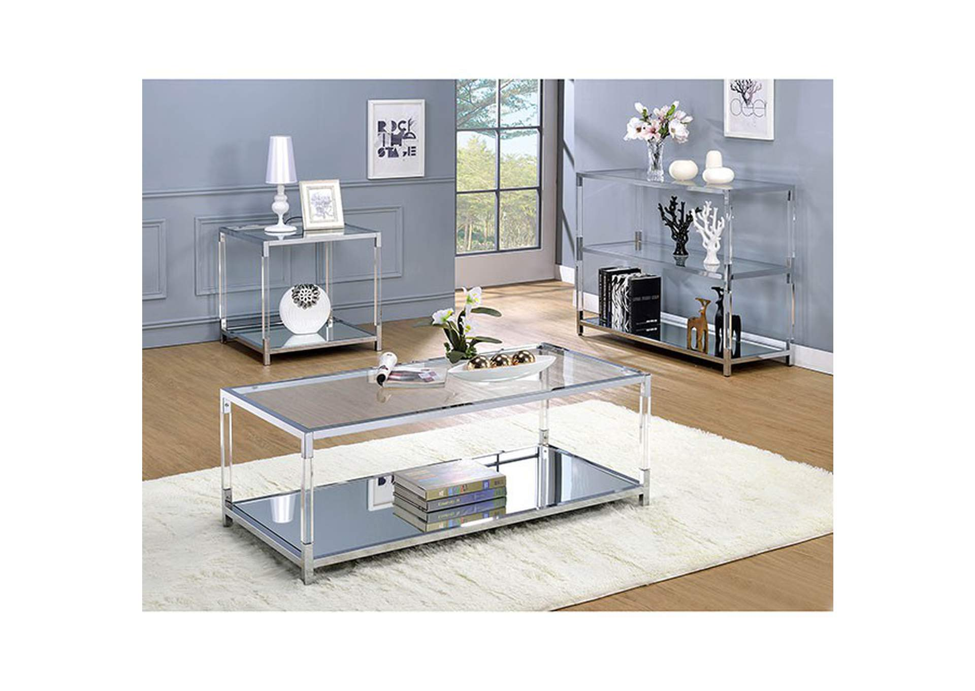 Ludvig Coffee Table,Furniture of America