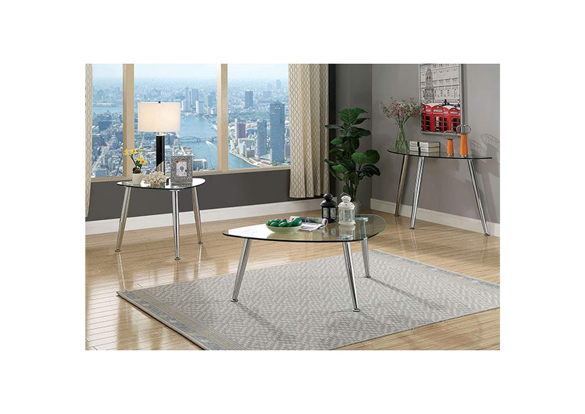 Delany End Table,Furniture of America