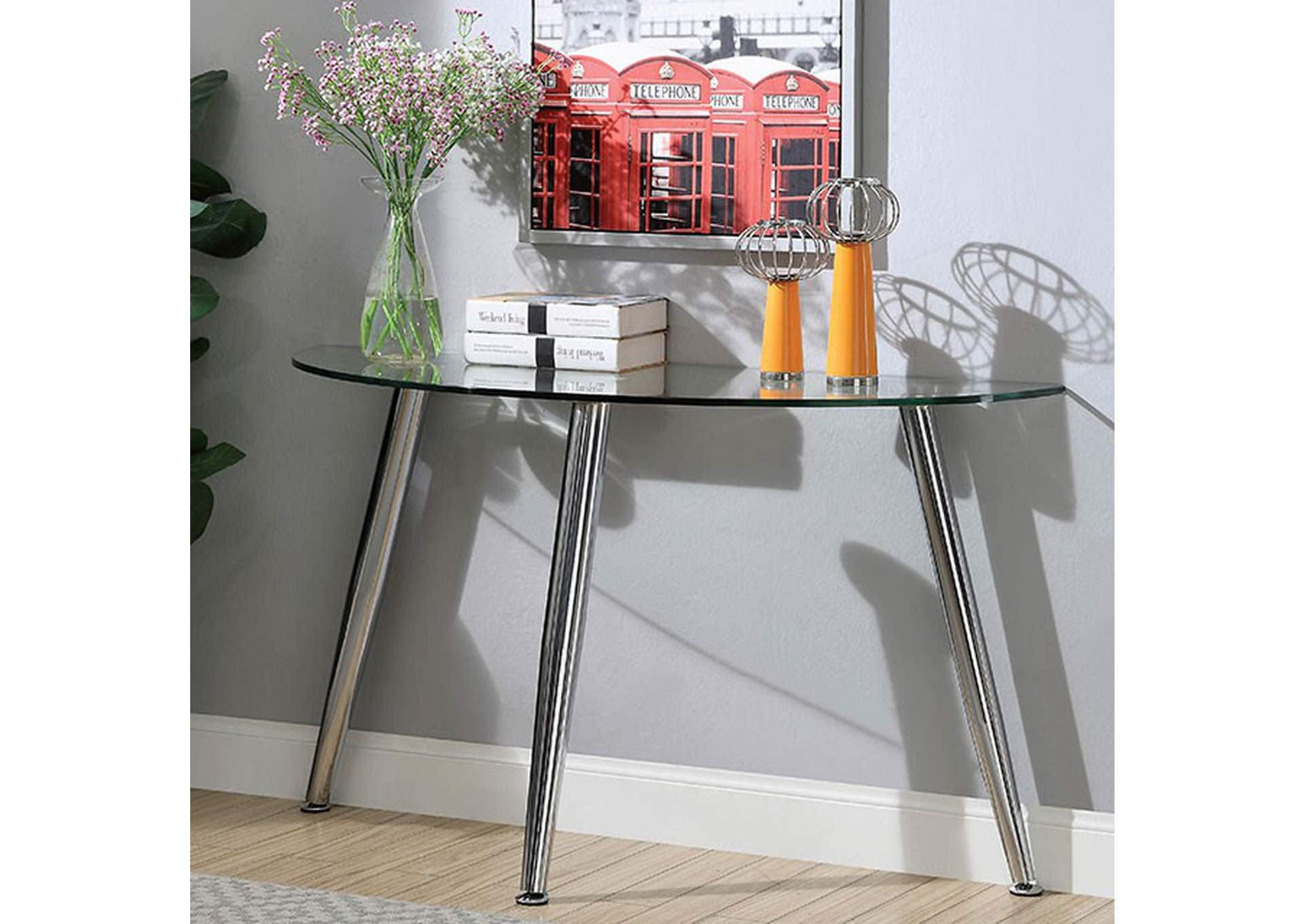 Delany Console Table,Furniture of America