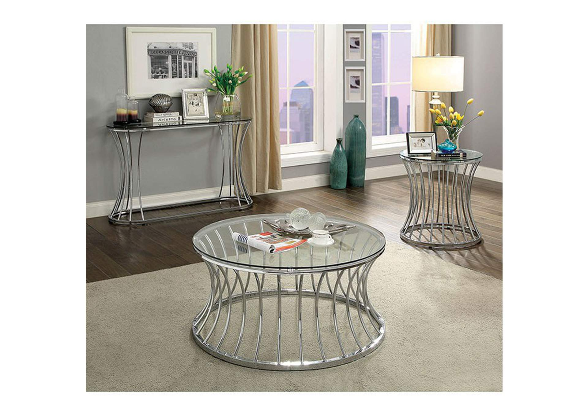 Esme Coffee Table,Furniture of America