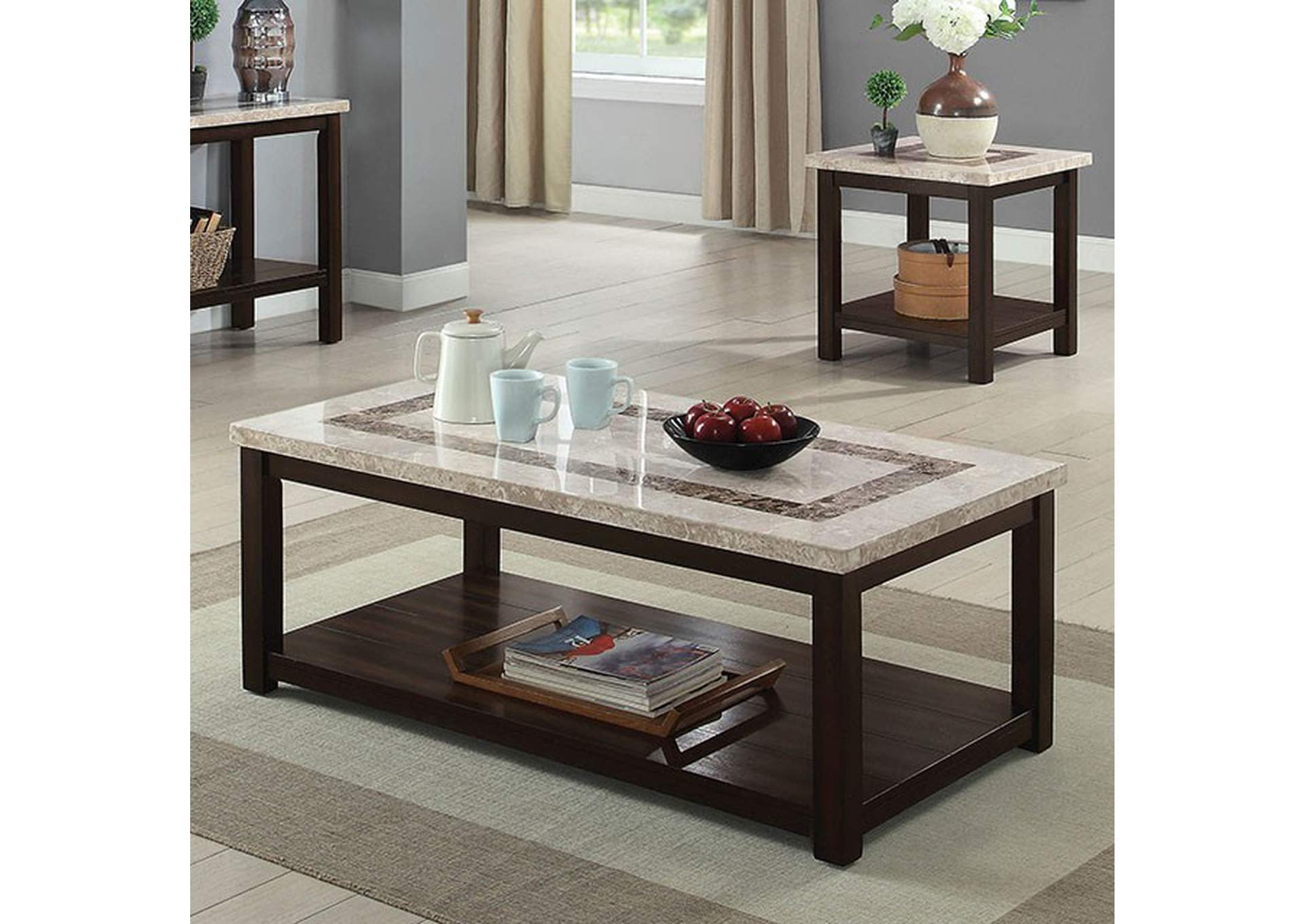 Rosetta Coffee Table,Furniture of America