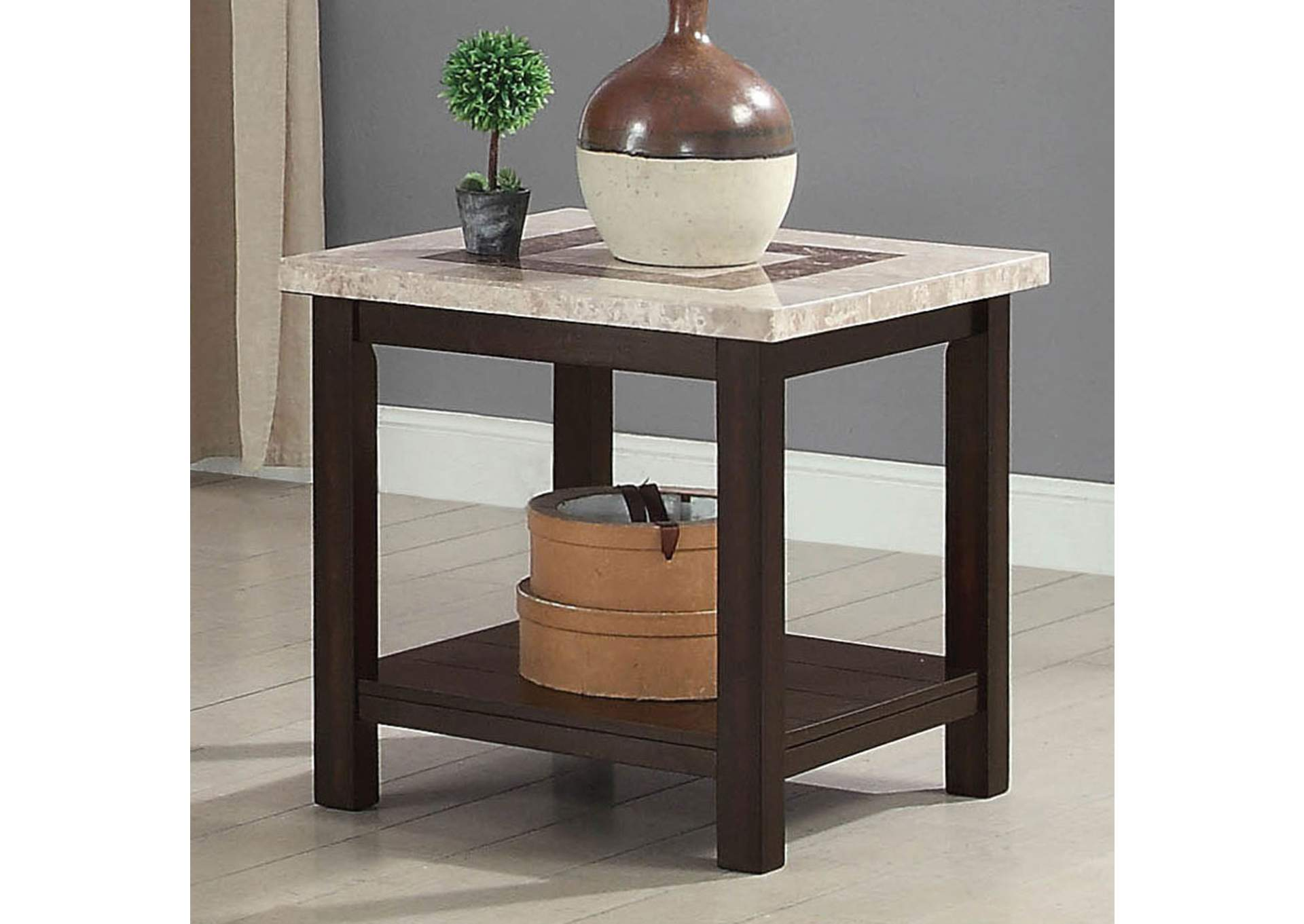 Rosetta End Table,Furniture of America