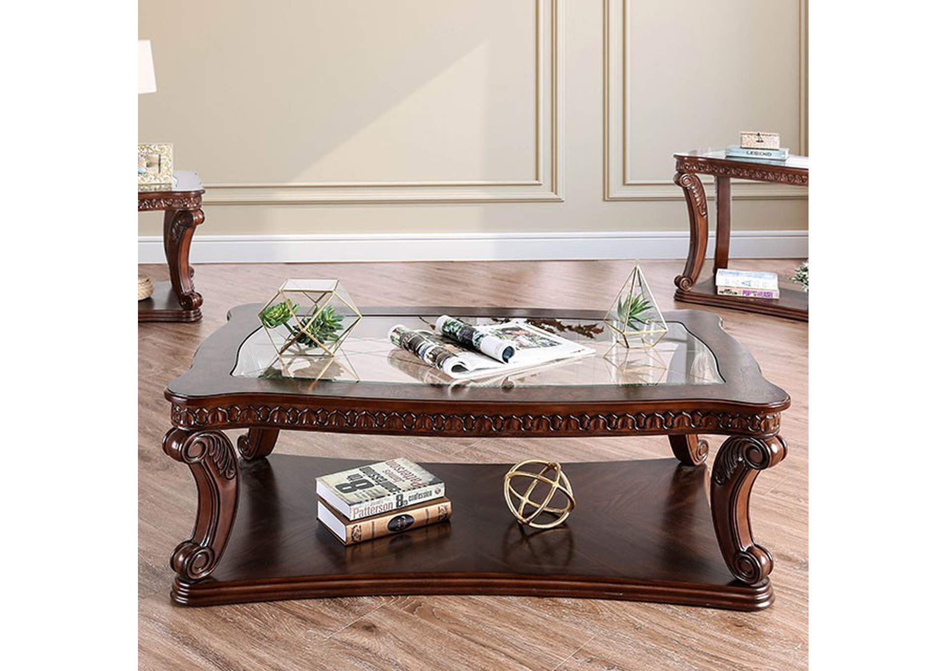 Walworth Coffe Table,Furniture of America