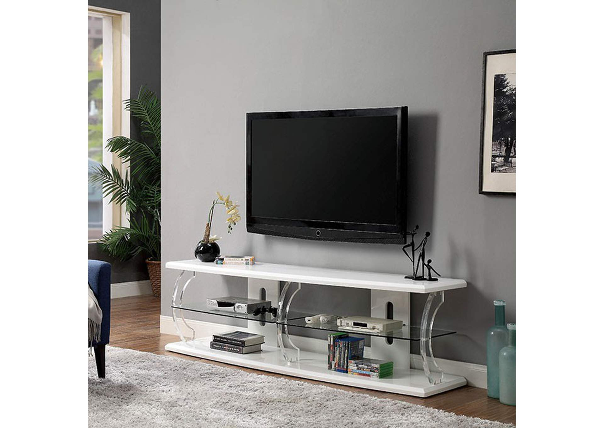 "Ernst 72"" Tv Stand,Furniture of America"