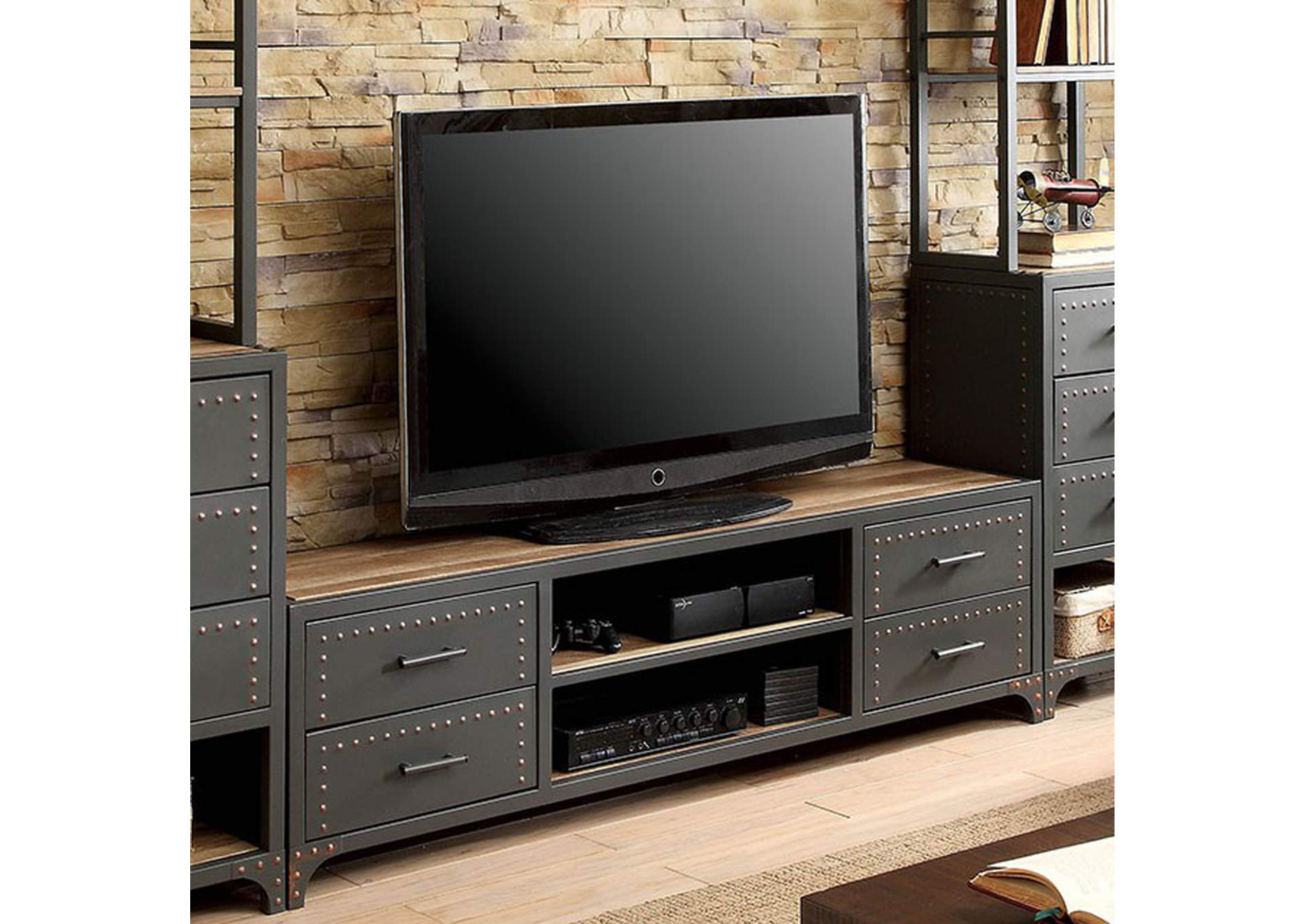 "Galway Gray 60"" Tv Stand,Furniture of America"