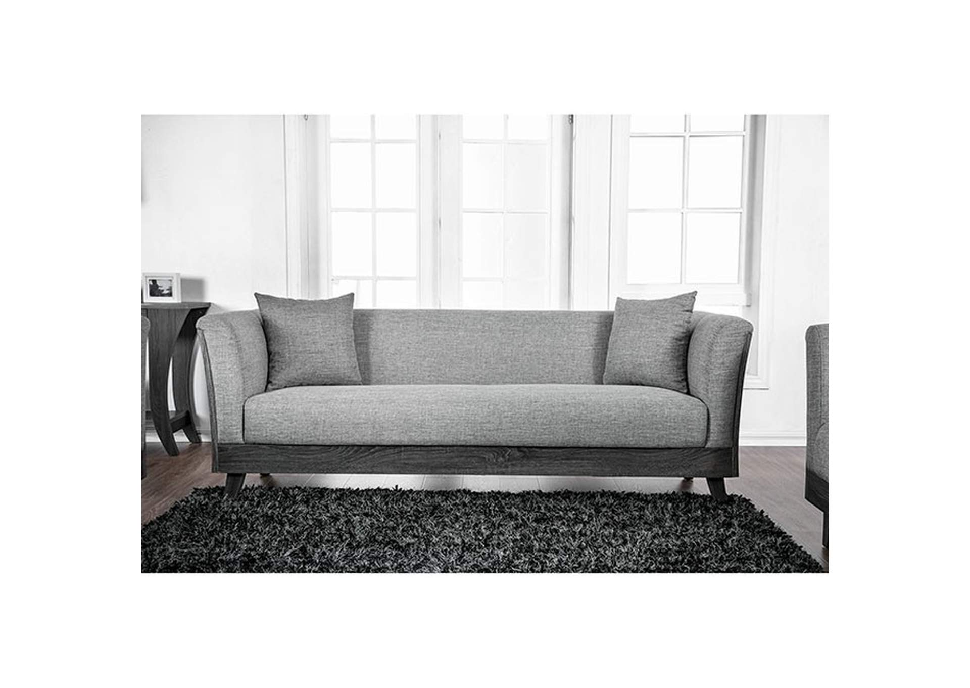 Cailin Gray Sofa,Furniture of America