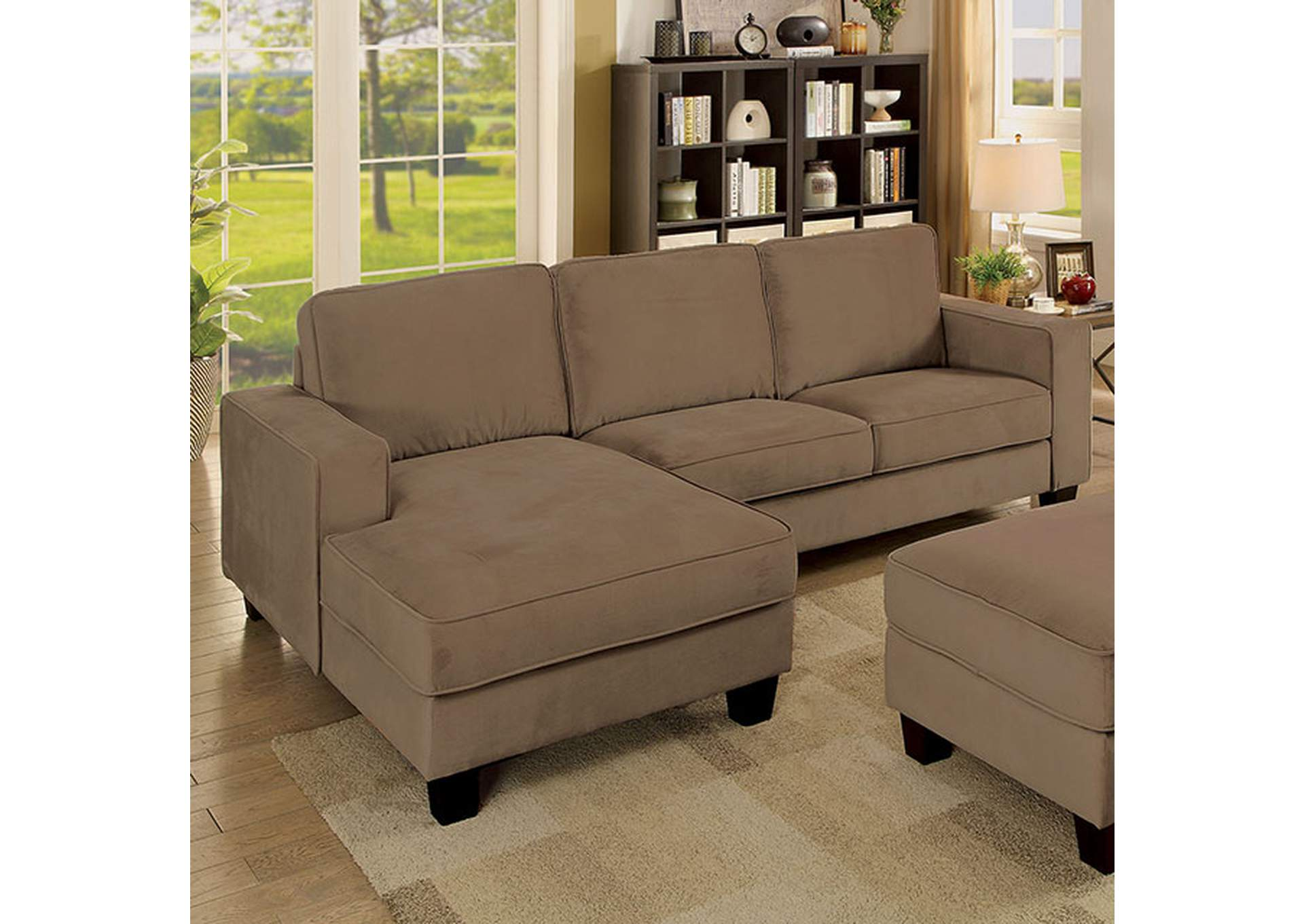 Jancis Sectional,Furniture of America