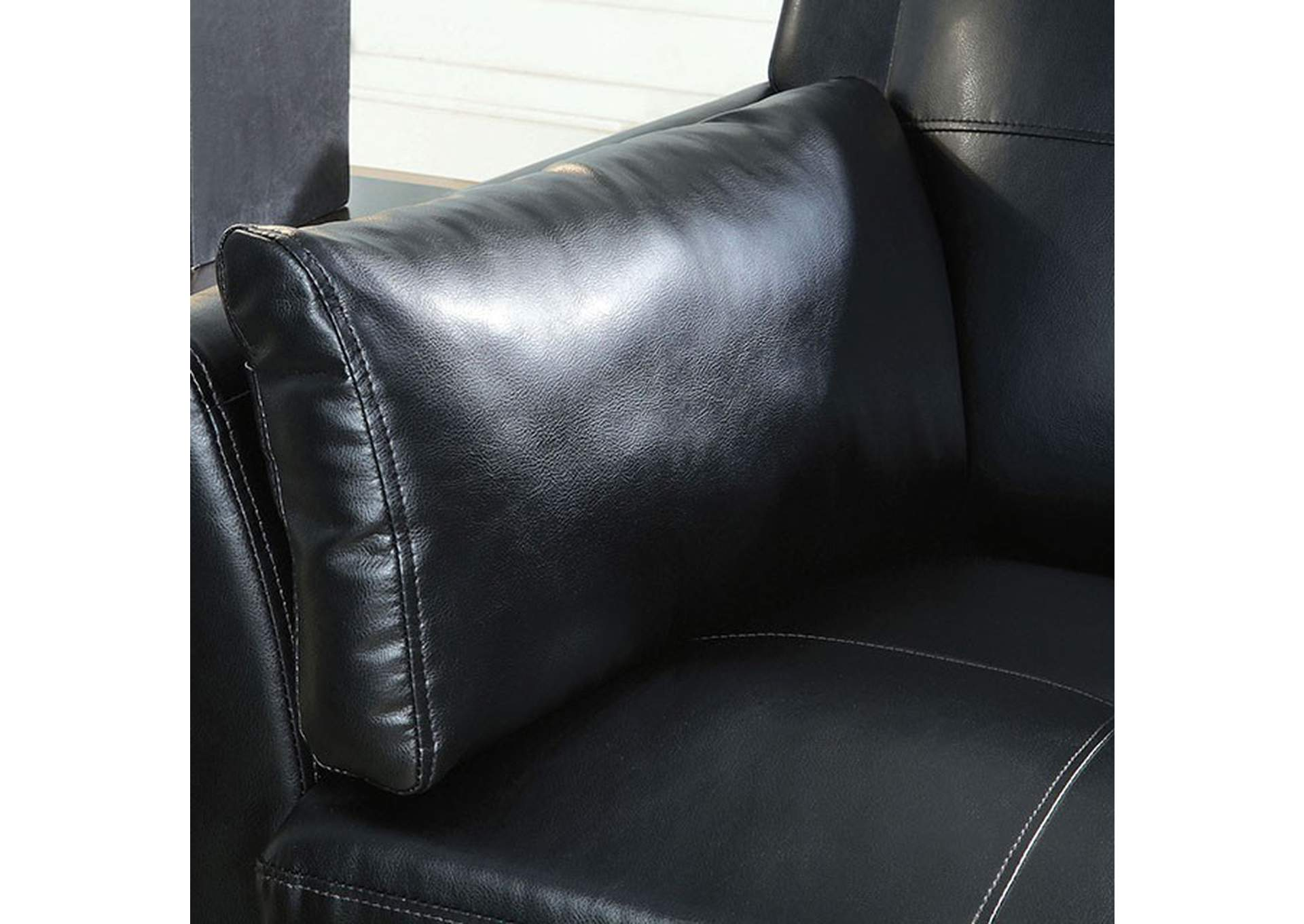 Pierre Black Sofa,Furniture of America