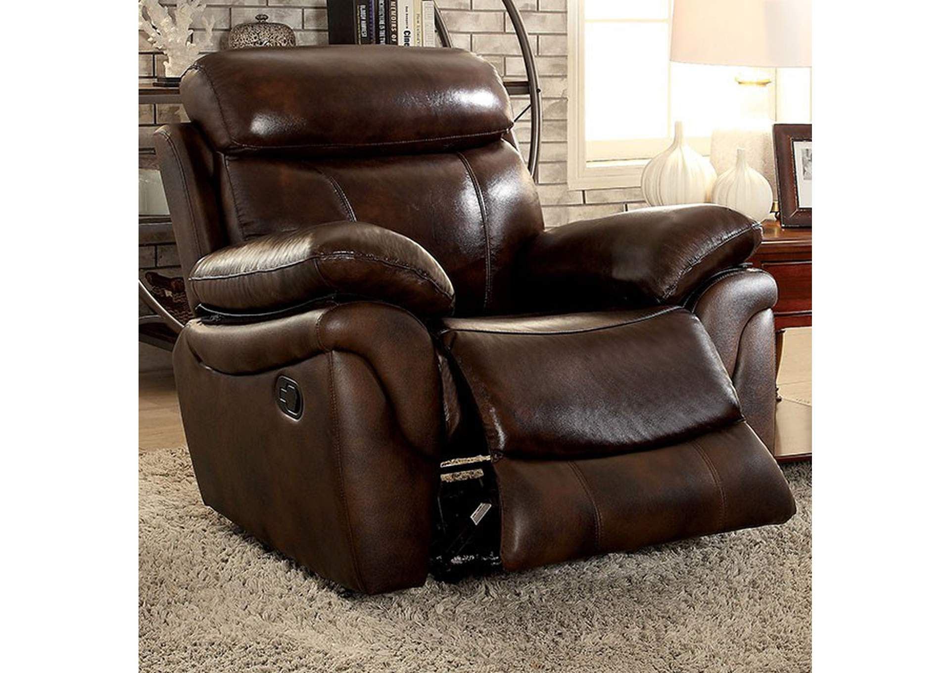 Kinsley Recliner,Furniture of America