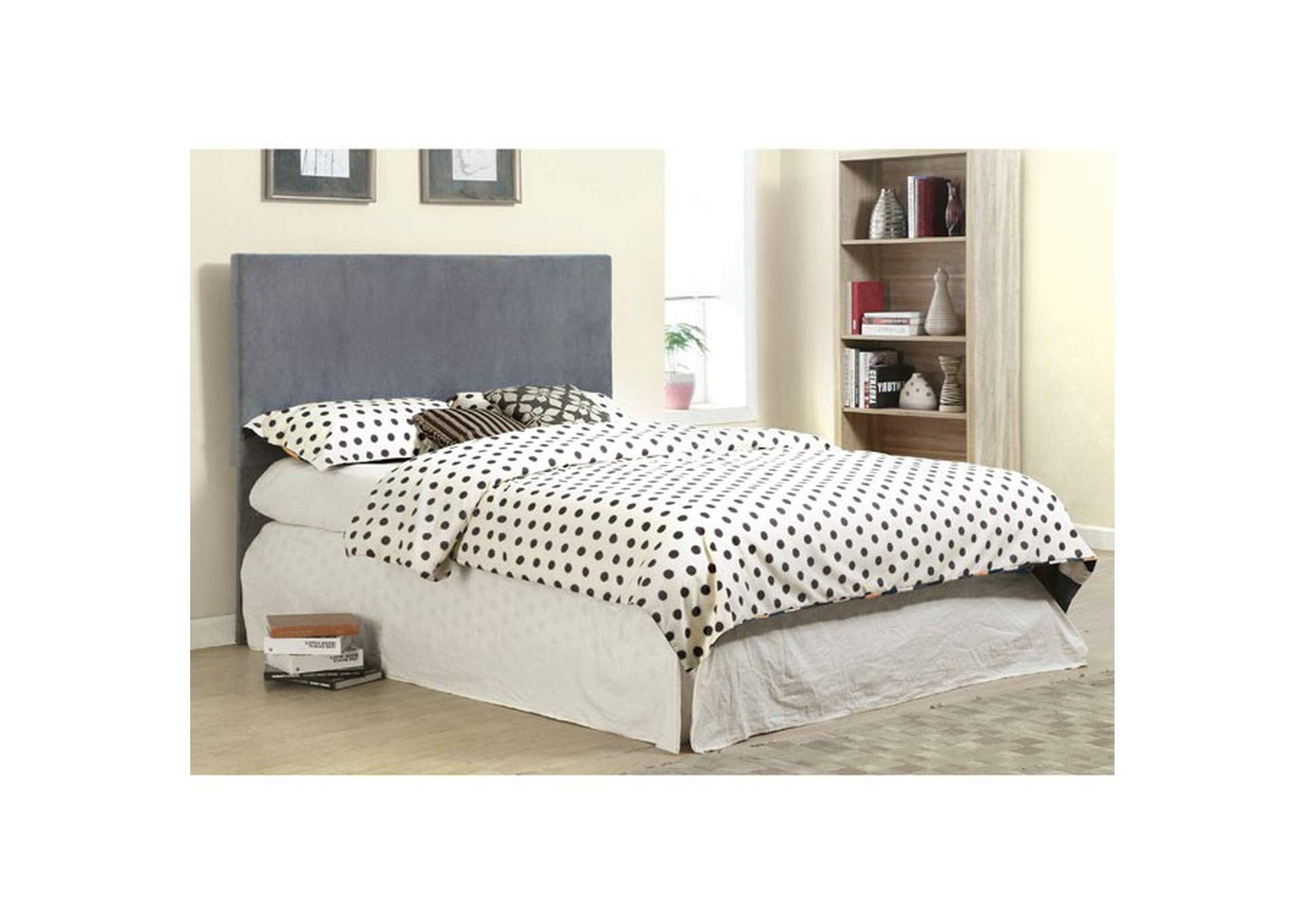 Winn Park ll Grey Queen Headboard,Furniture of America