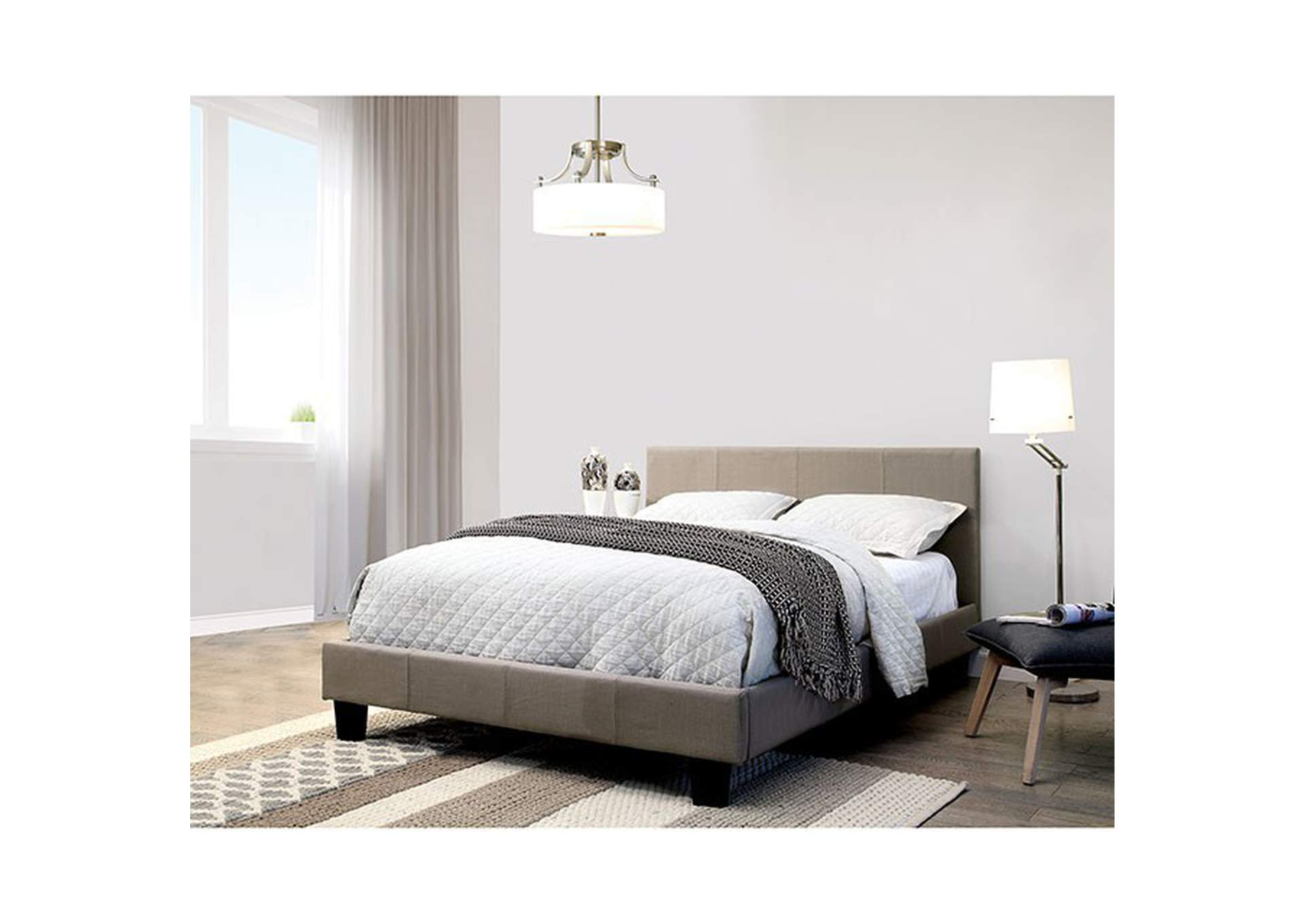 Sims Gray Full Bed,Furniture of America