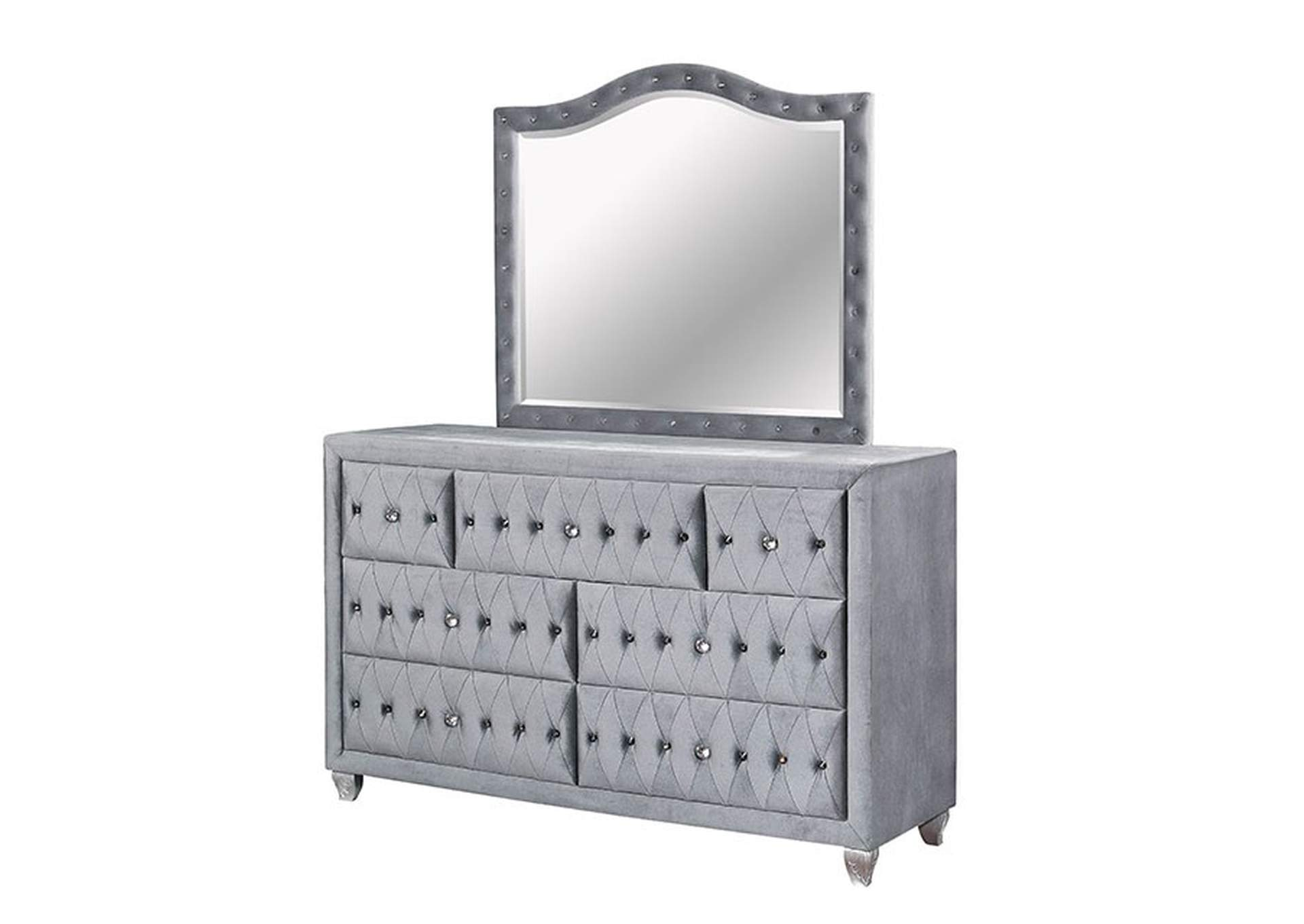 Alzir Gray Dresser,Furniture of America