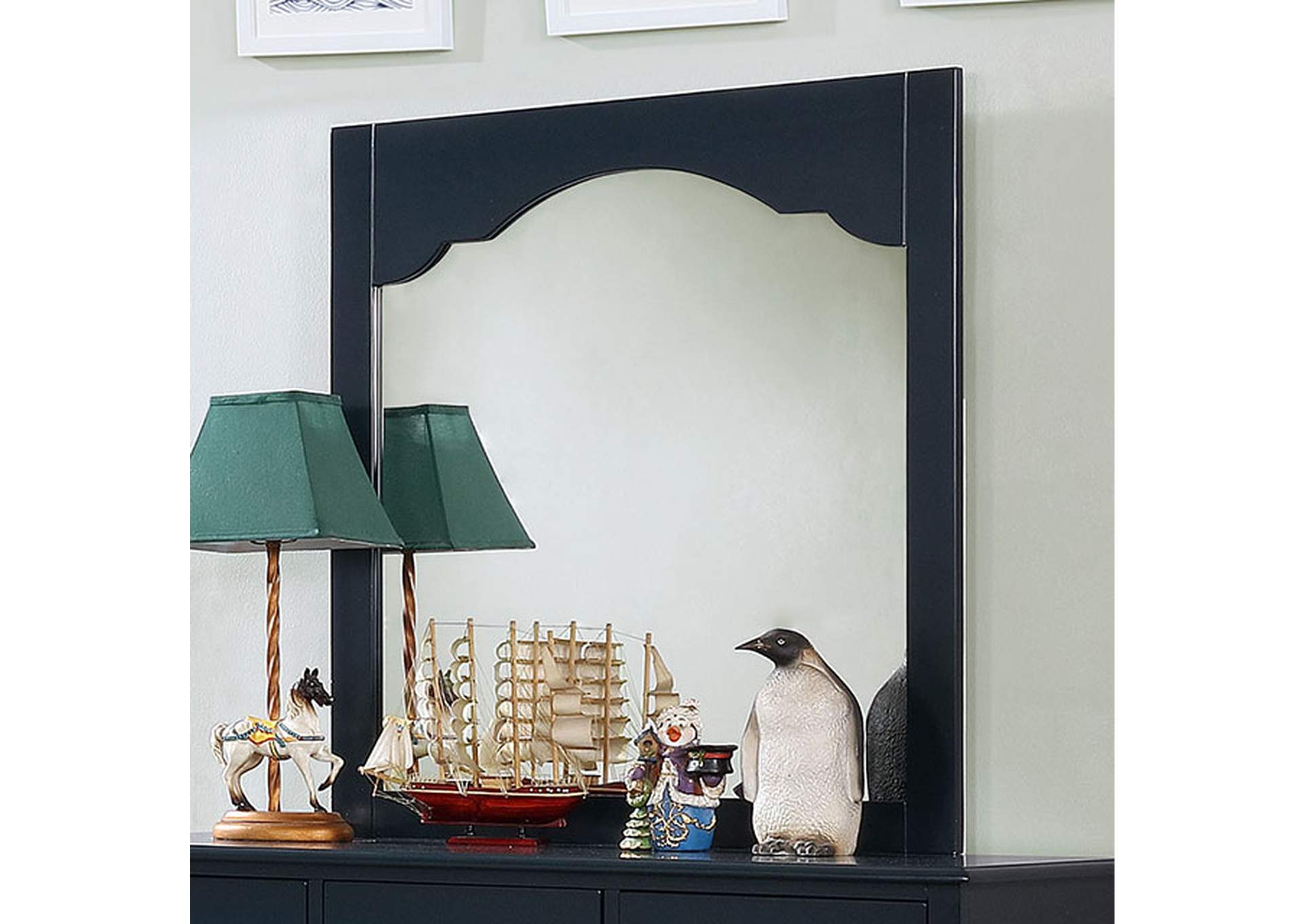 Diane Blue Mirror,Furniture of America