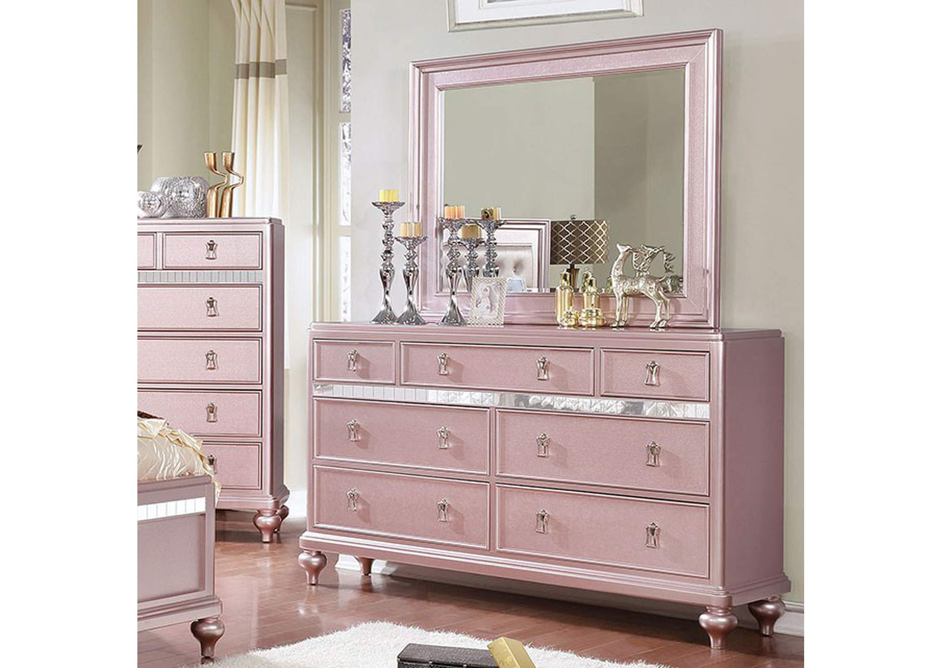 Ariston Dresser,Furniture of America