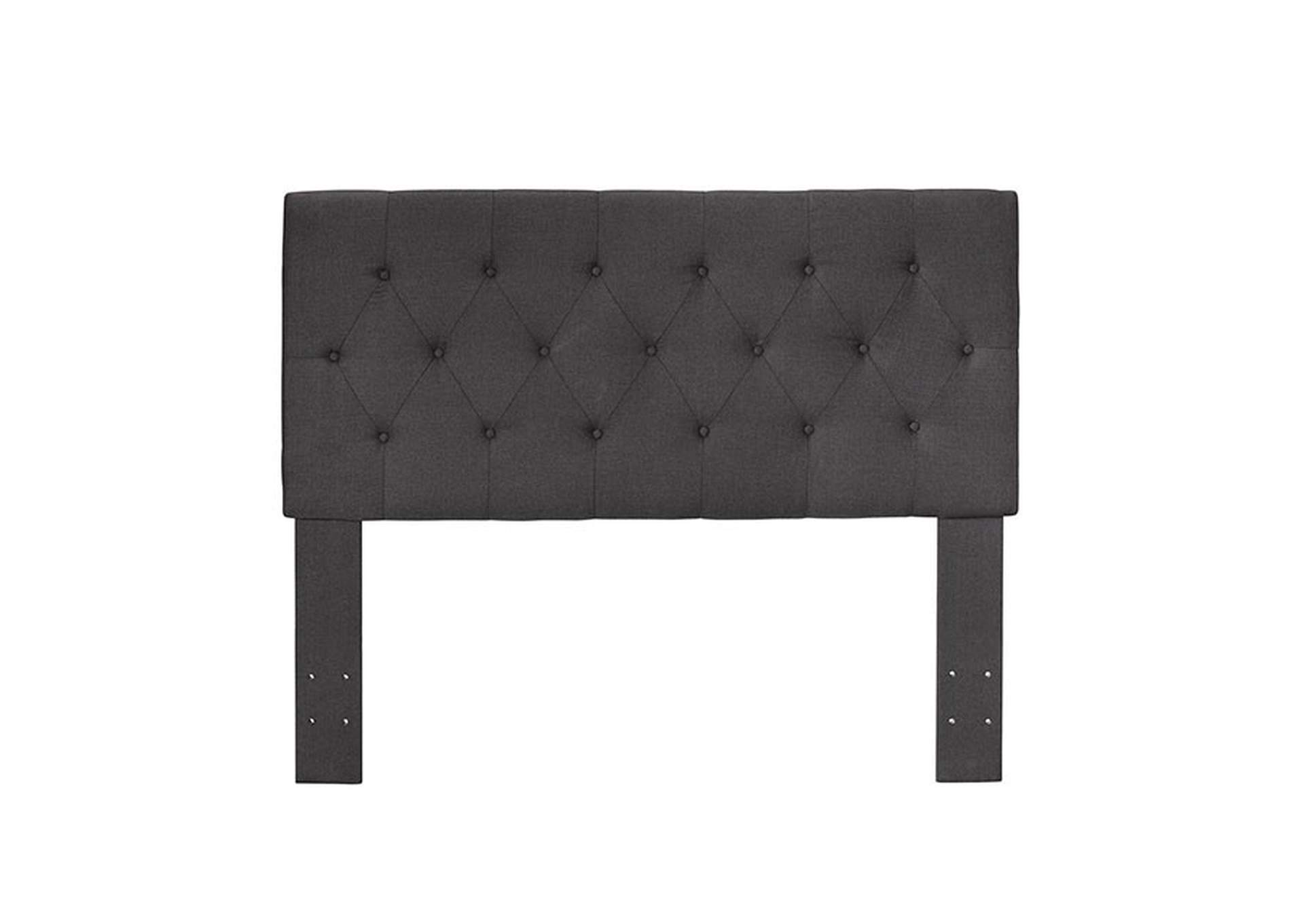 Leeroy ll Dark Grey Queen Headboard,Furniture of America