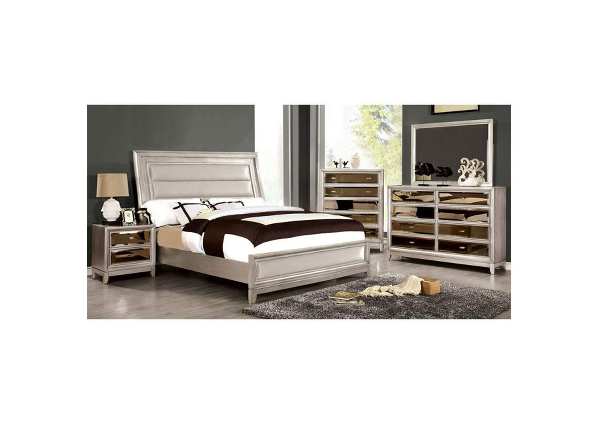 Golva Queen Bed,Furniture of America