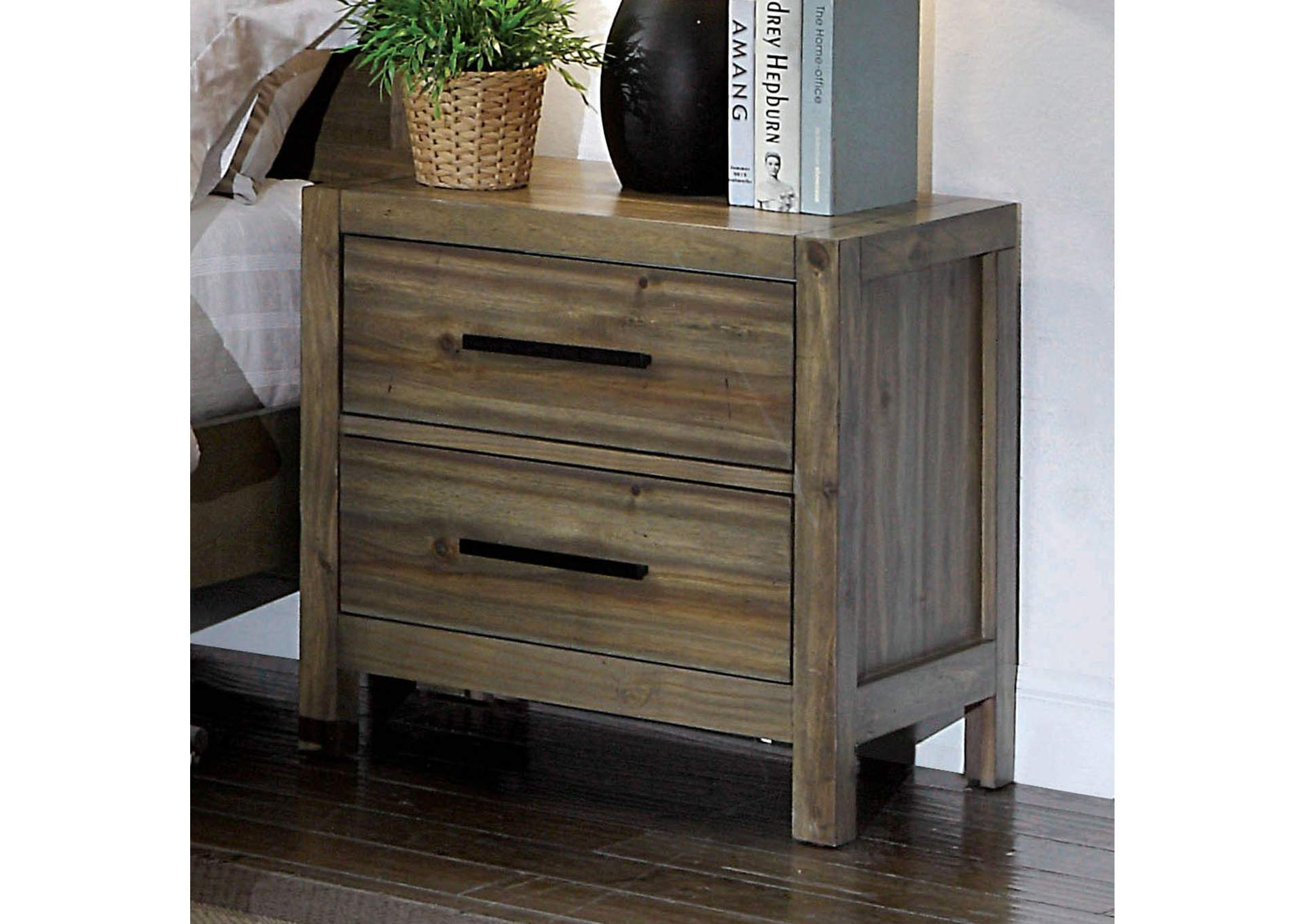 Garland Nightstand,Furniture of America