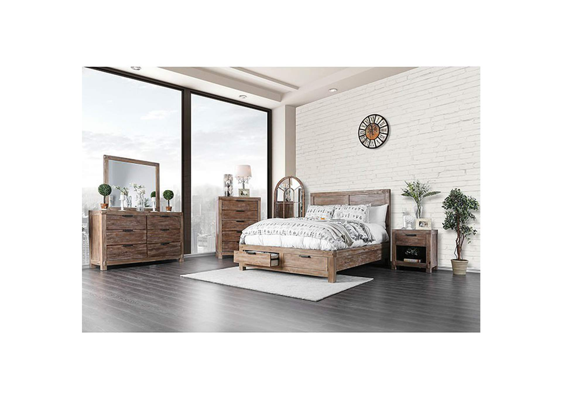 Wynton Eastern King Bed,Furniture of America