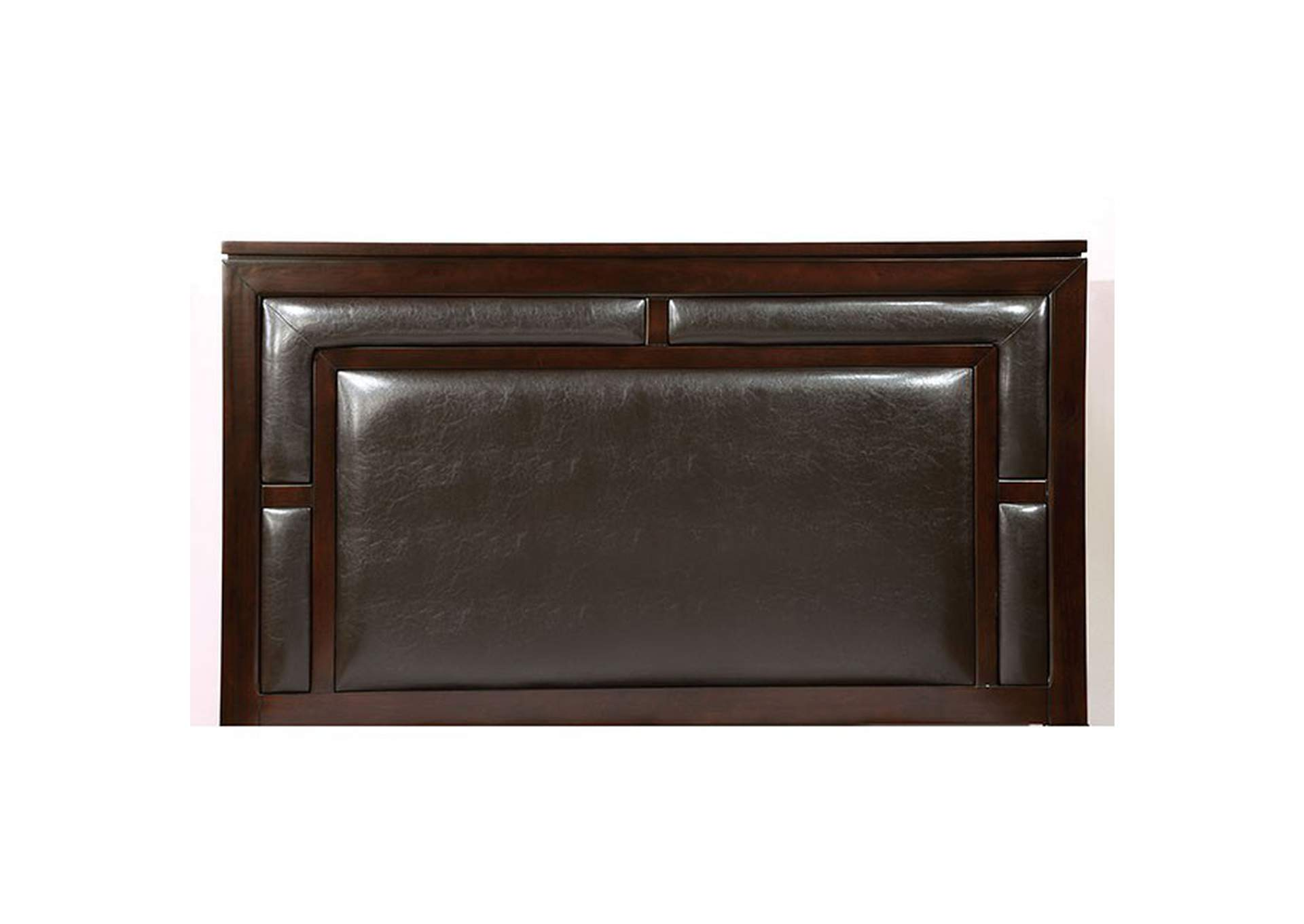 Balfour Brown Cherry Queen Bed,Furniture of America