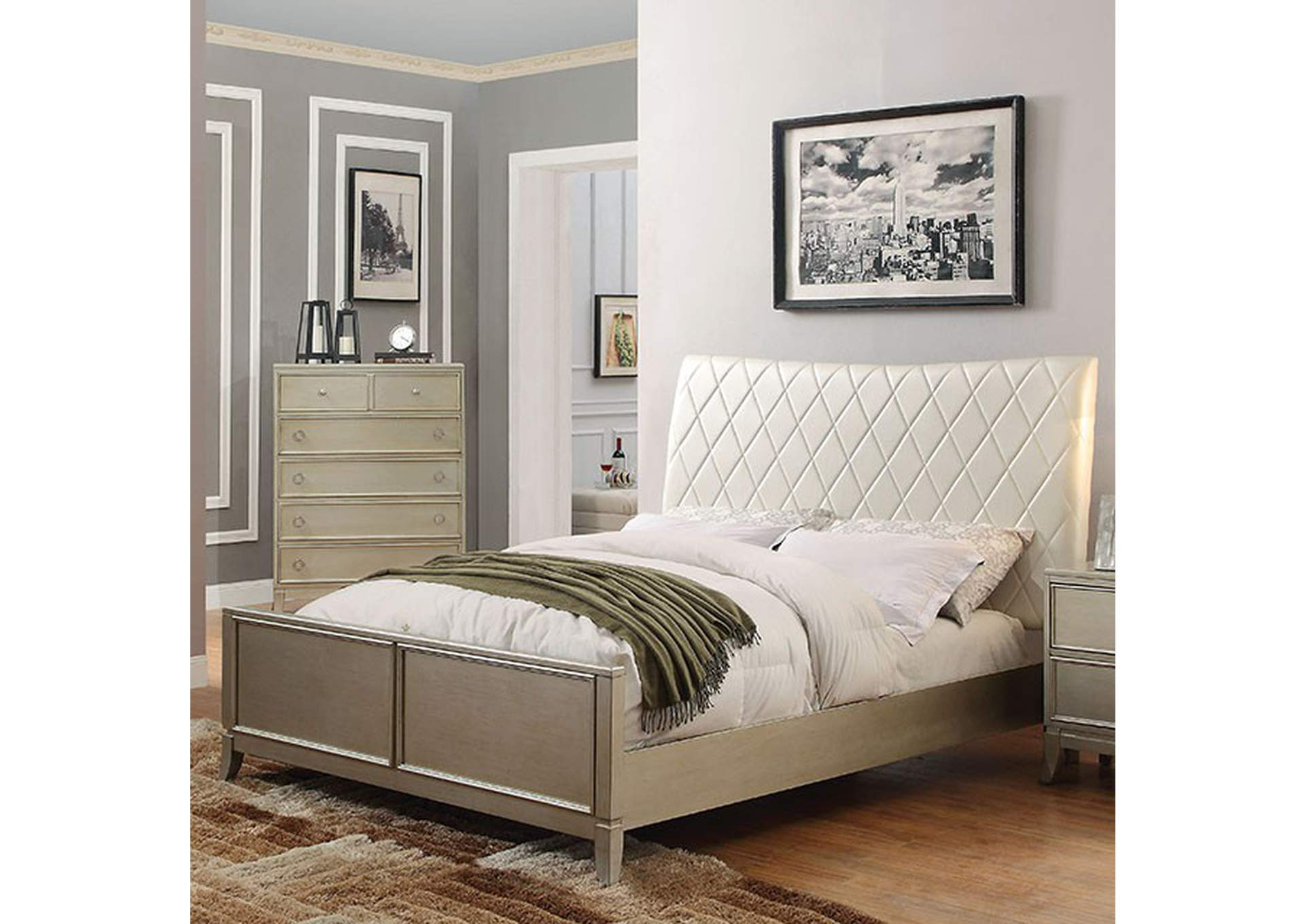 Enid Queen Bed,Furniture of America
