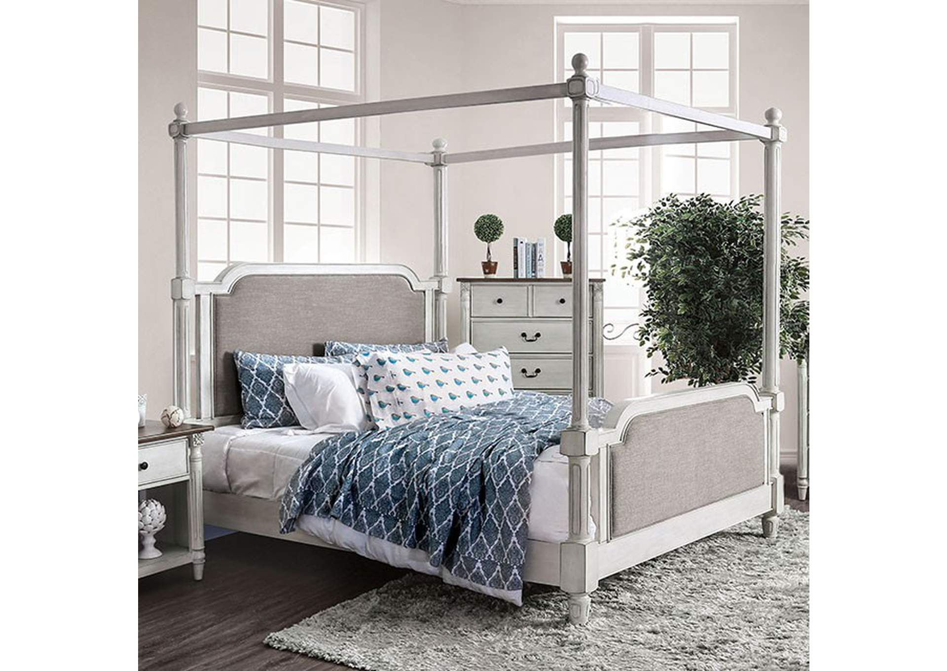 Lansford California King Bed,Furniture of America