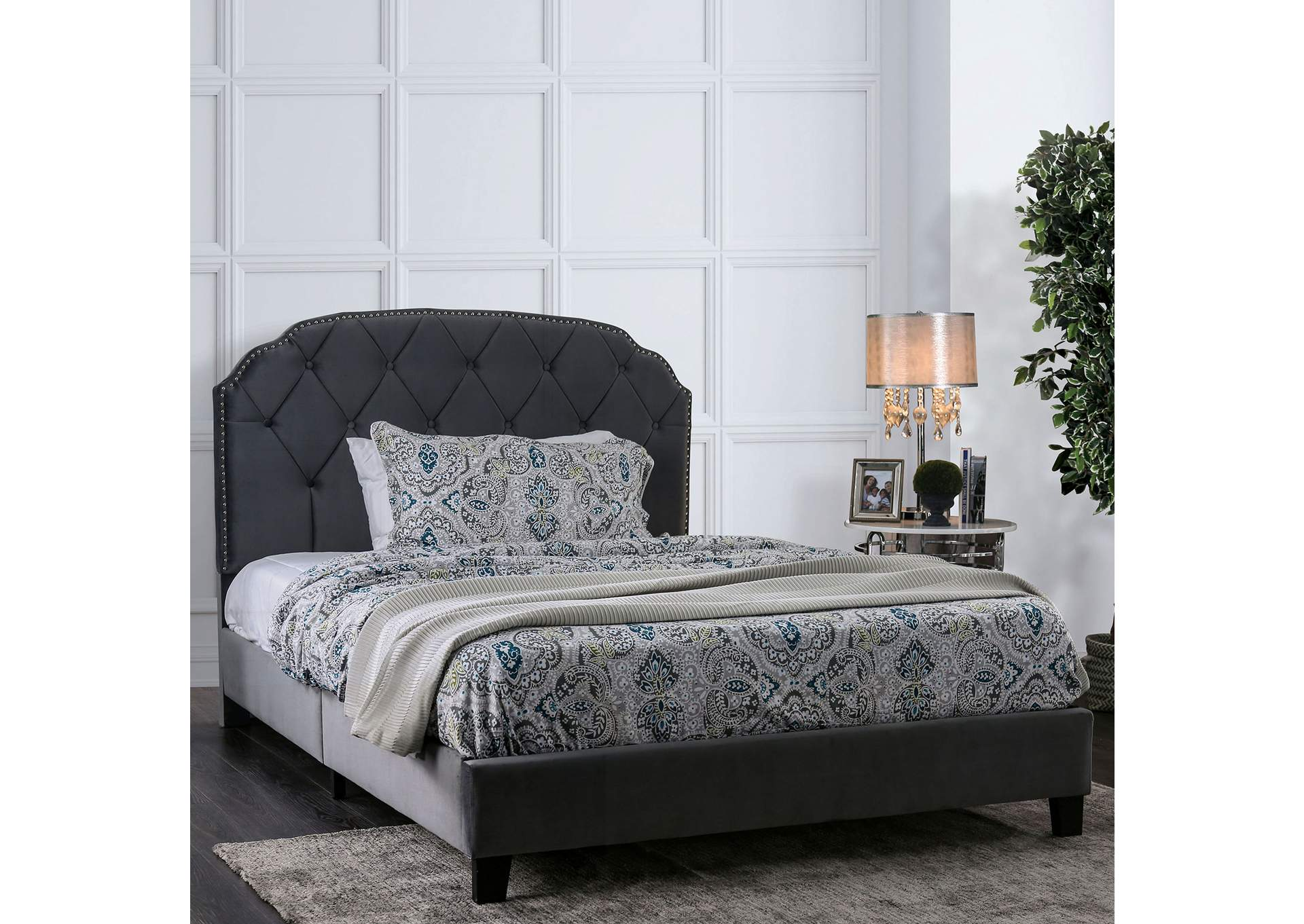 Osnabrock Gray Full Bed,Furniture of America