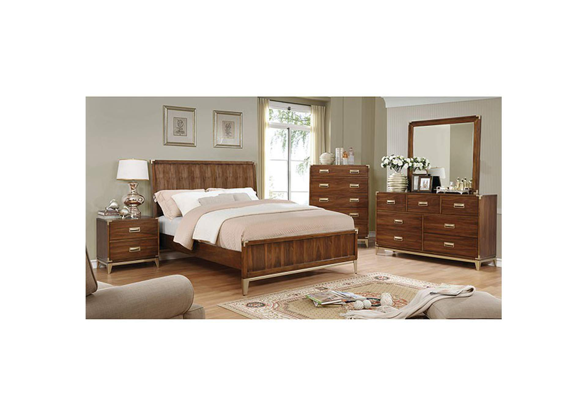 Tychus Queen Bed,Furniture of America