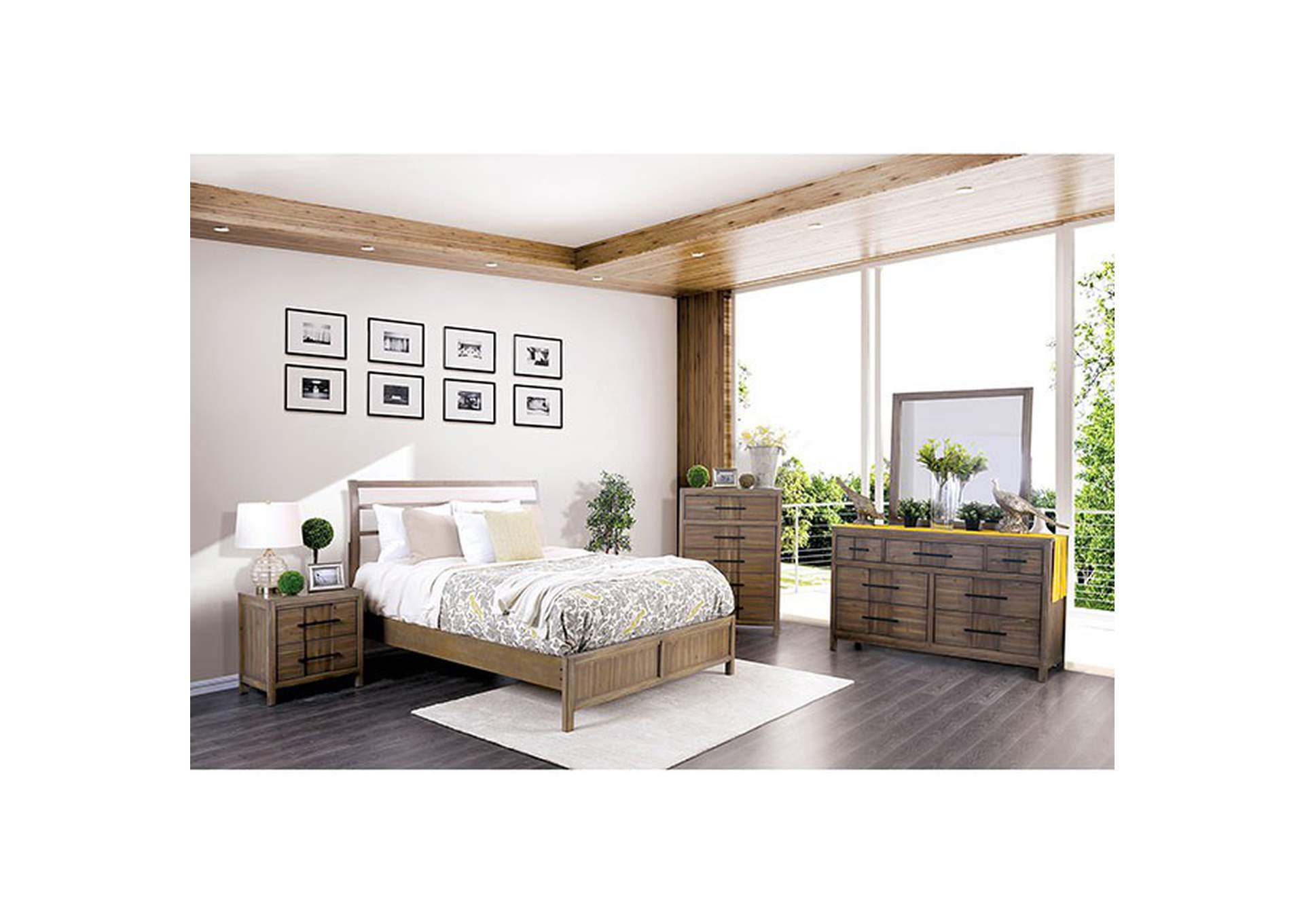 Berenice California King Bed,Furniture of America