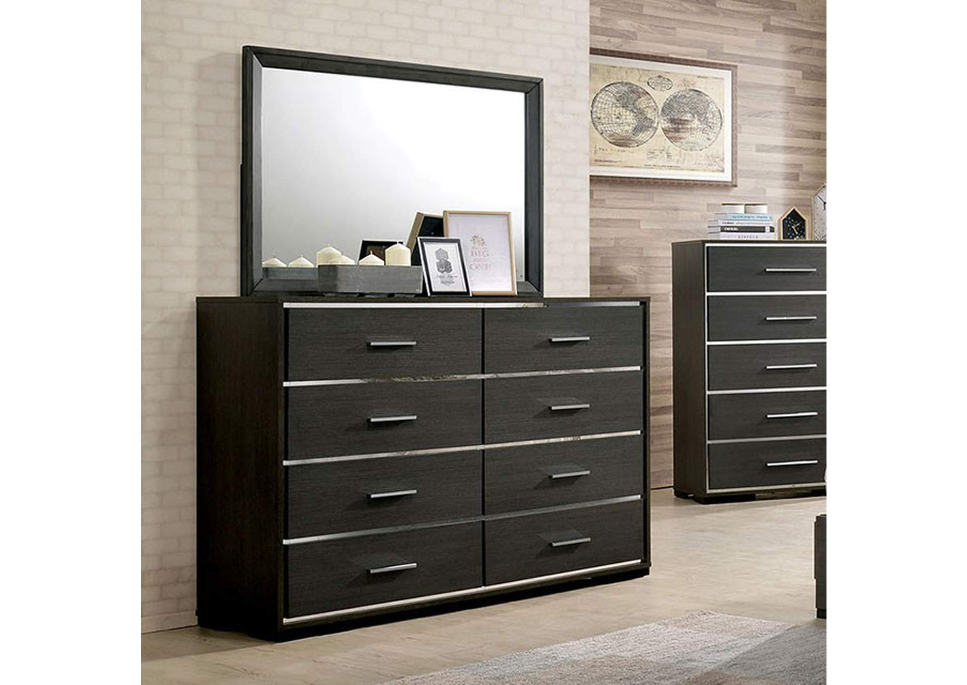 Camryn Warm Gray Dresser,Furniture of America