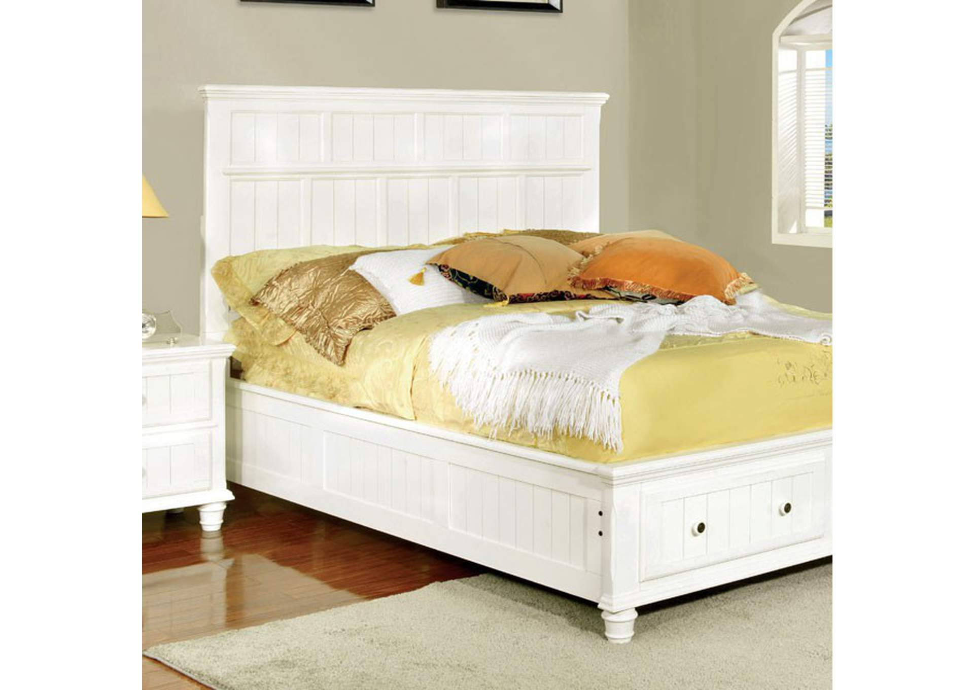 Willow Creek California King Bed,Furniture of America