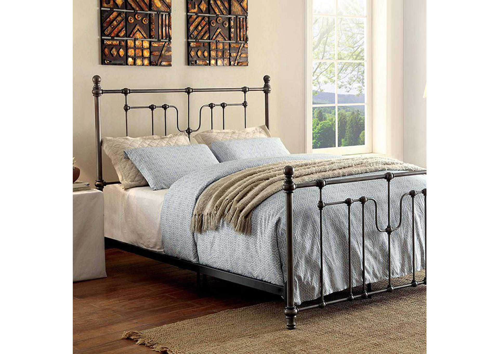 Elysia Queen Bed,Furniture of America
