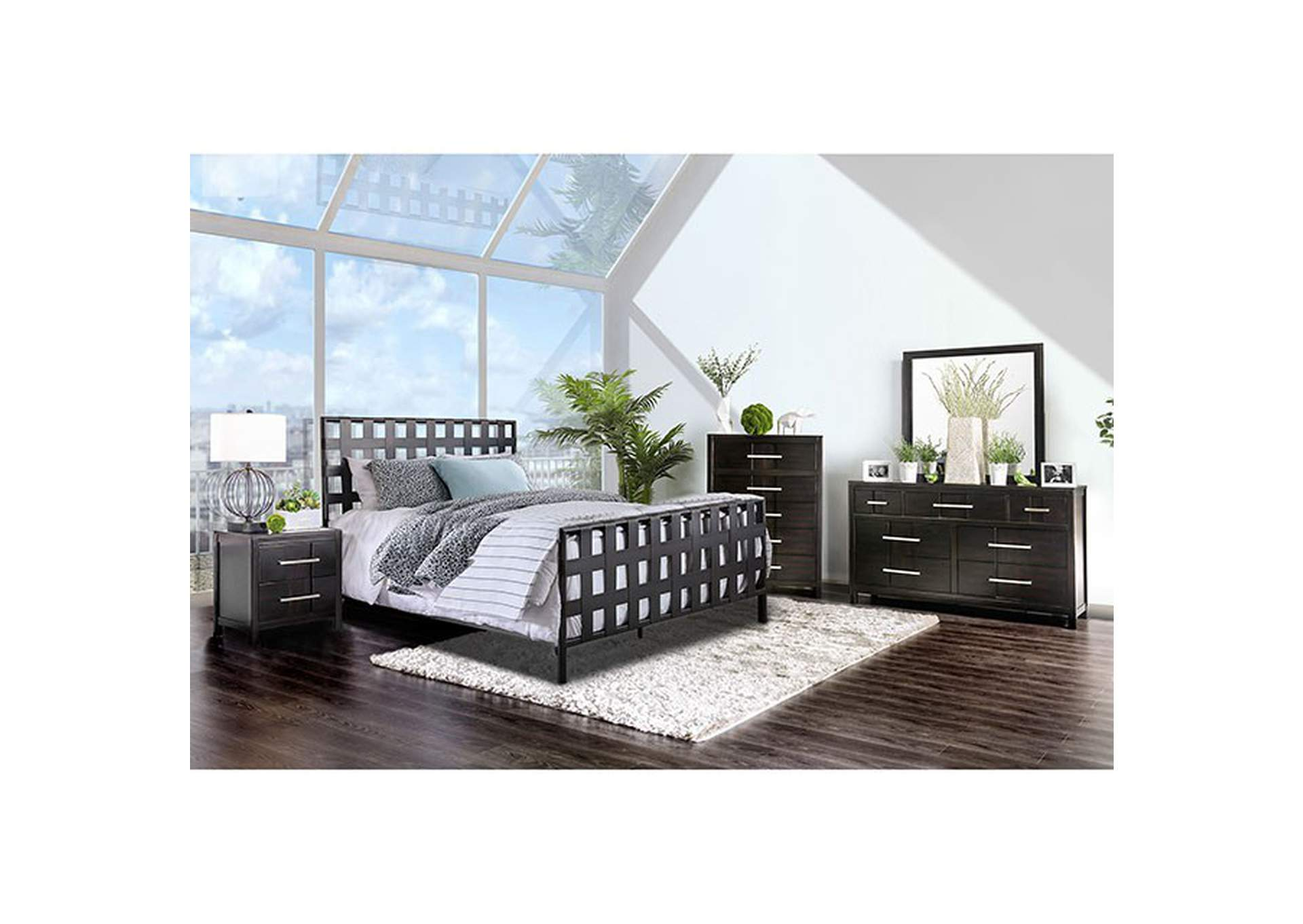 Earlgate Twin Bed,Furniture of America