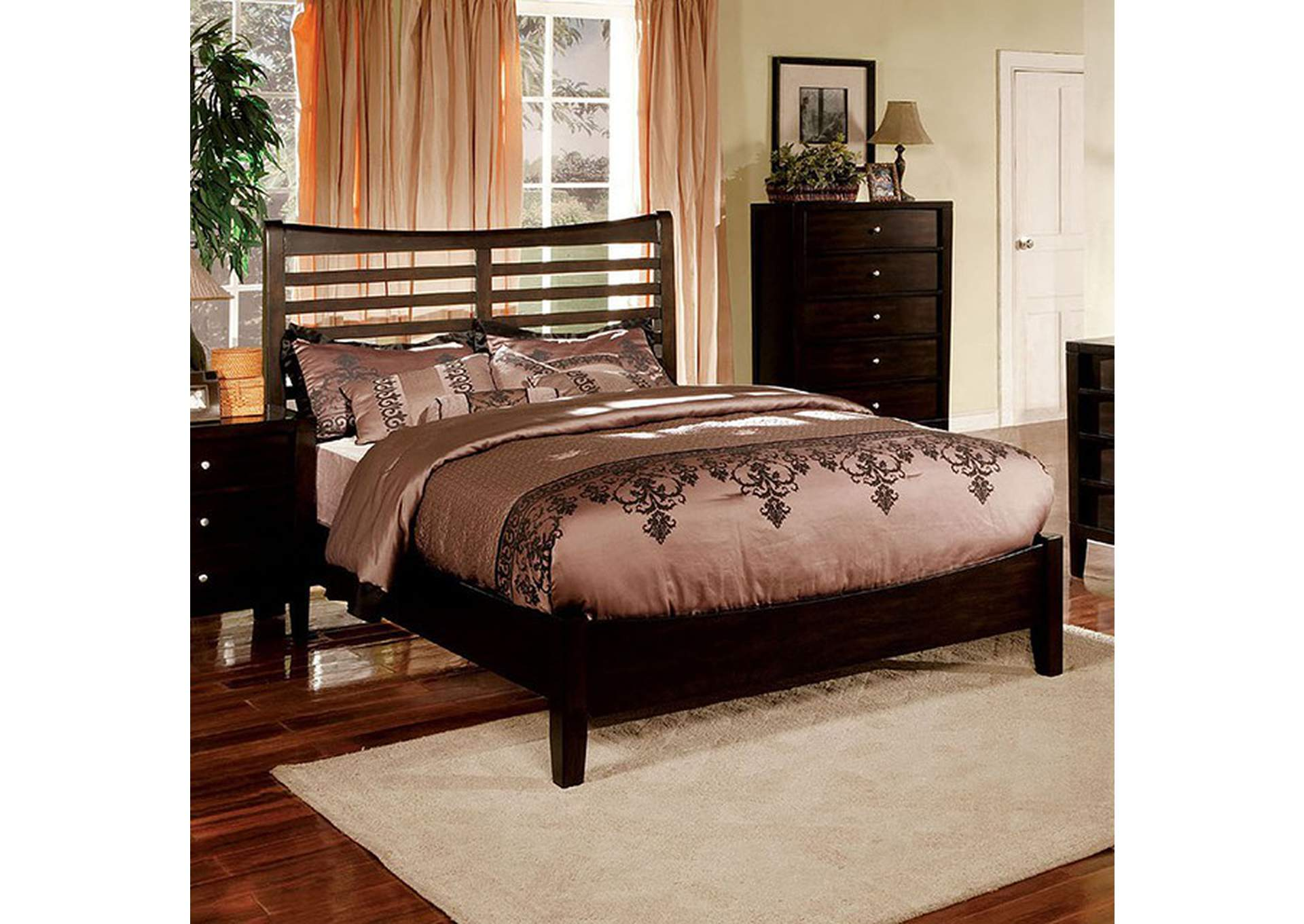 Glastonbury California King Bed,Furniture of America