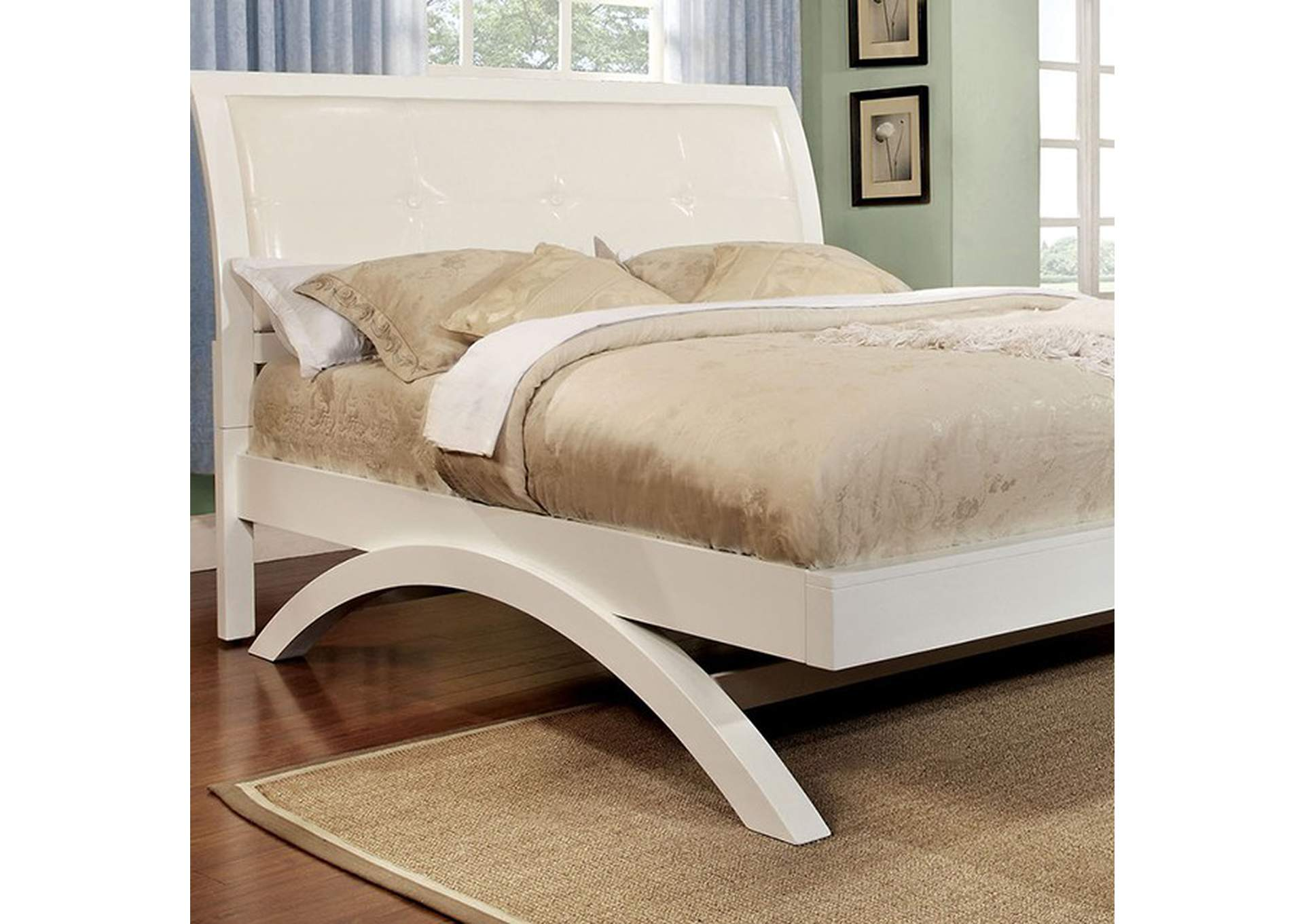 Delano California King Bed,Furniture of America