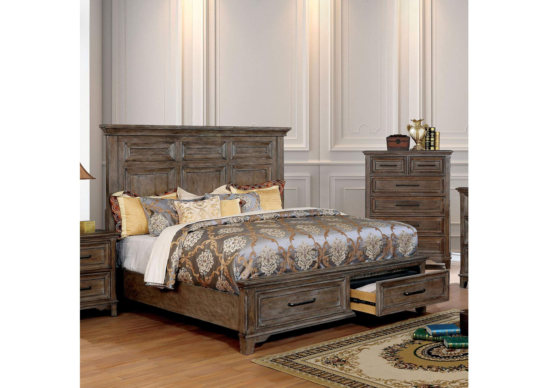 Oberon Queen Bed,Furniture of America