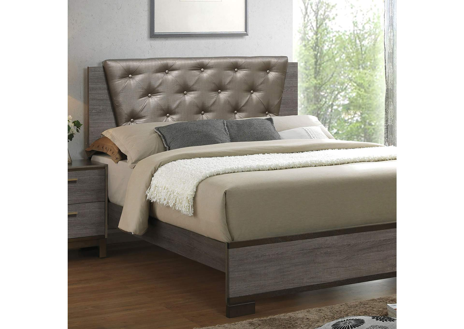 Manvel Queen Bed,Furniture of America