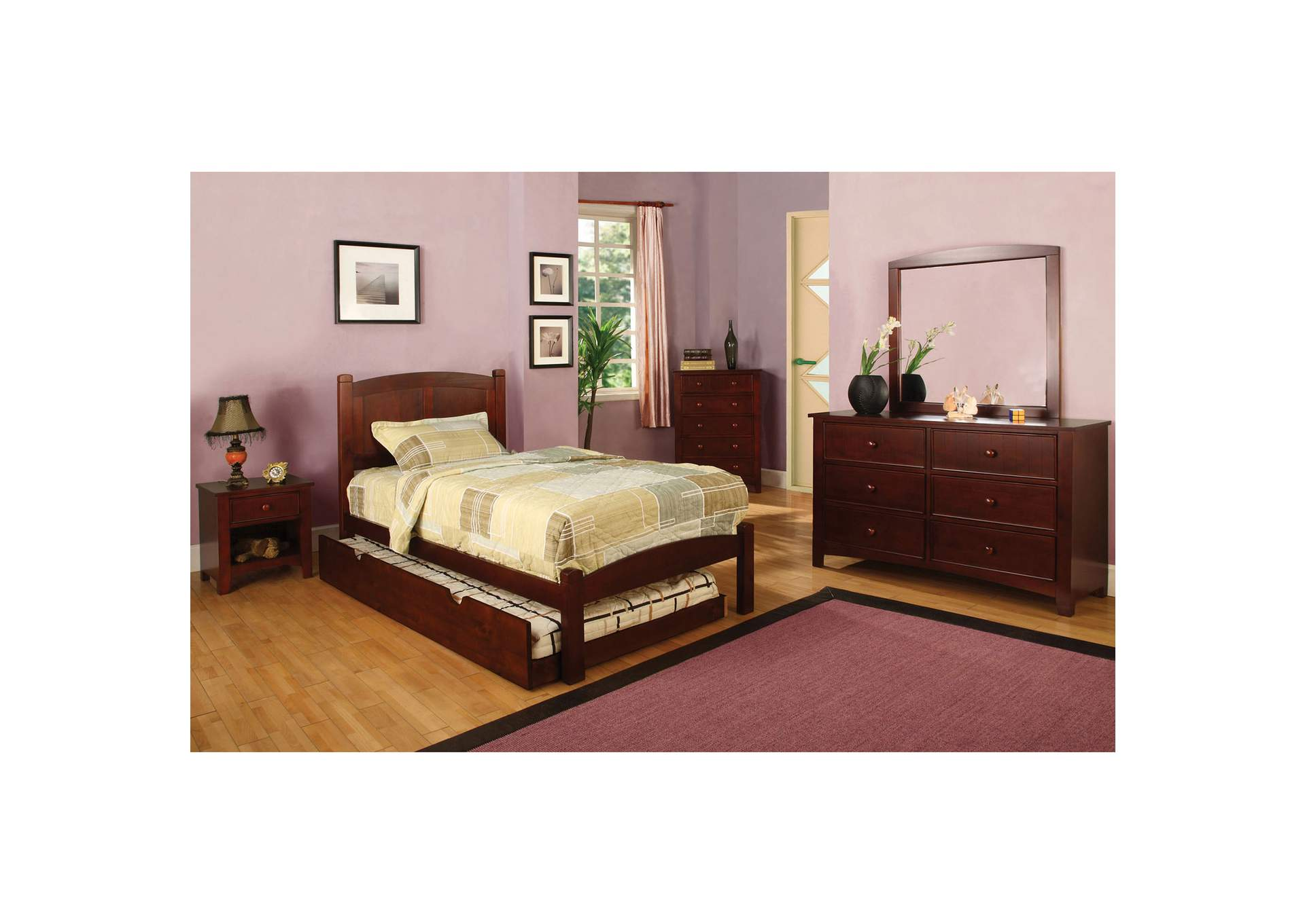 Omnus Cherry Drawers,Furniture of America
