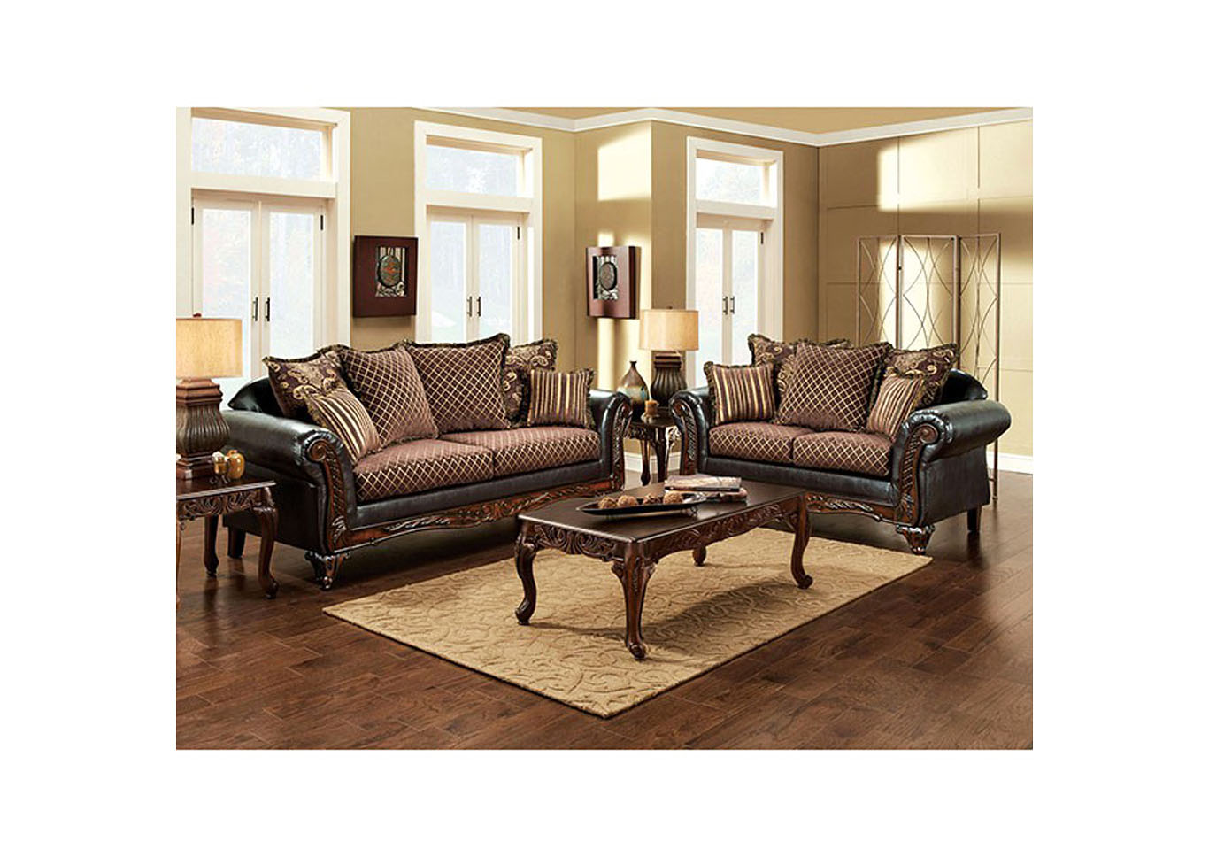 San Roque Sofa,Furniture of America