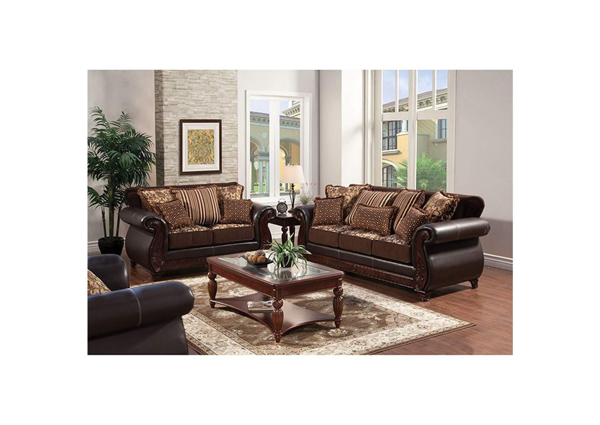 Franklin Dark Brown Sofa Albert S Home Furnishings