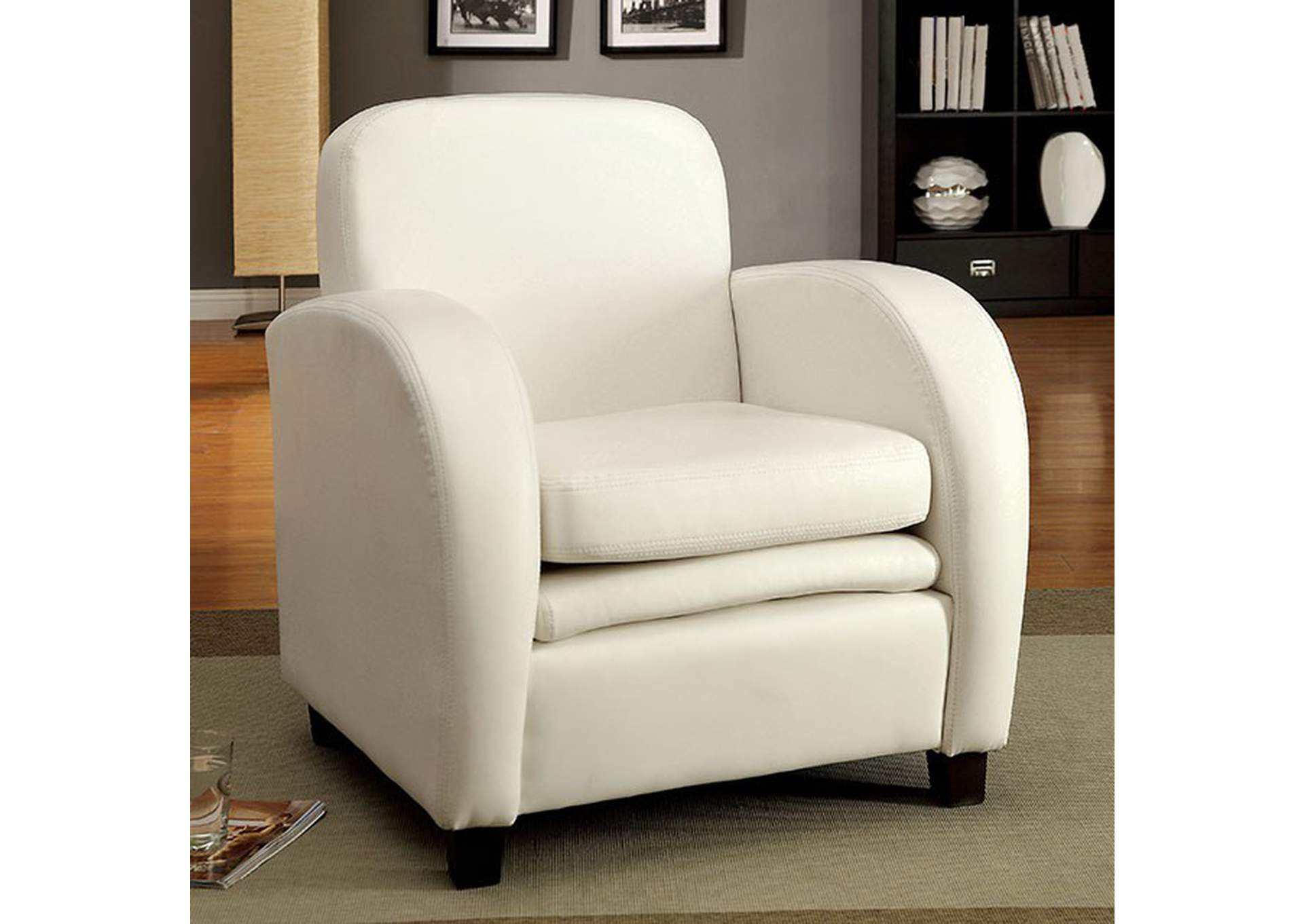Lugano Accent Chair,Furniture of America