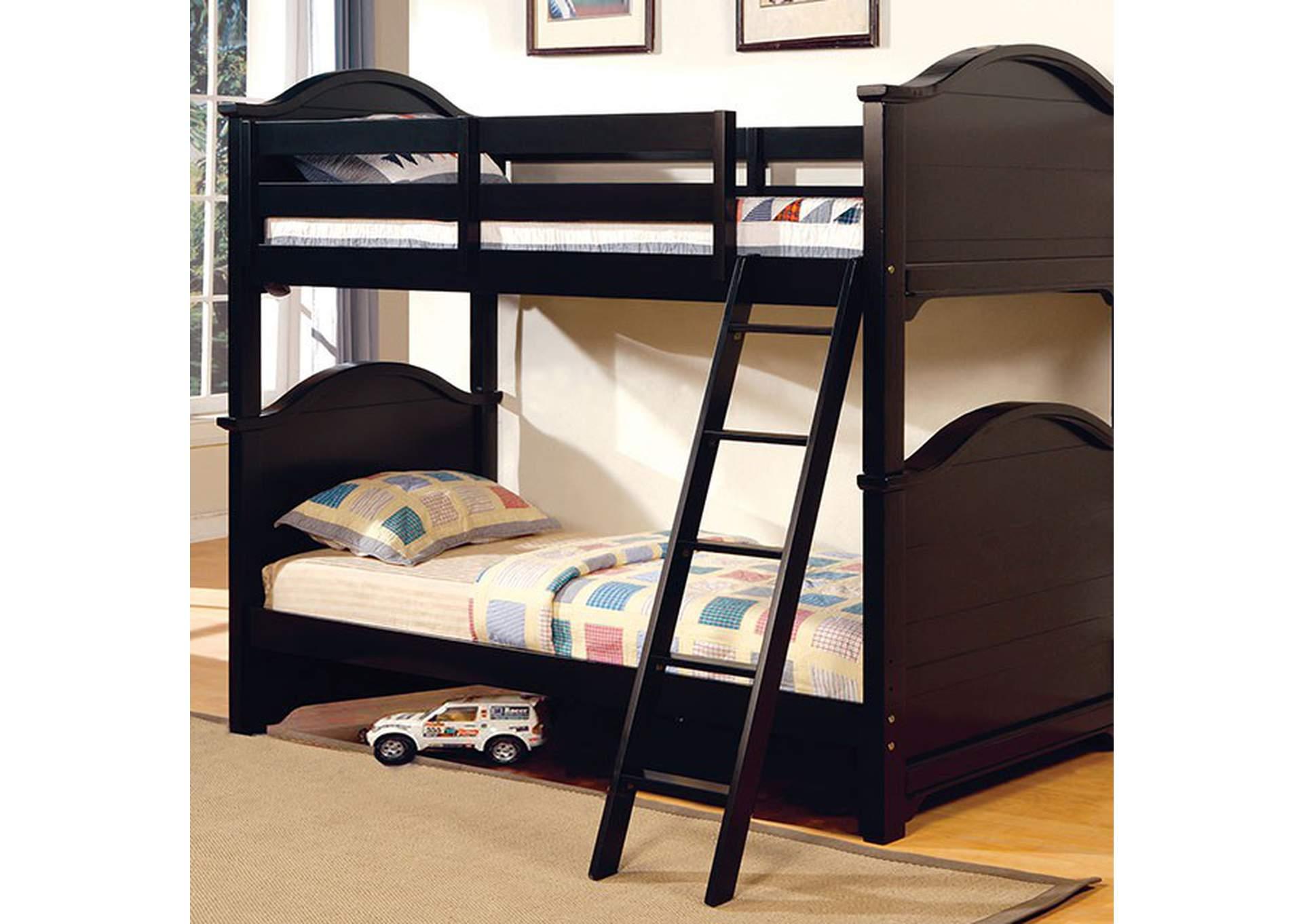 Chesapeake Black Underbed Drawers Alexis Furniture