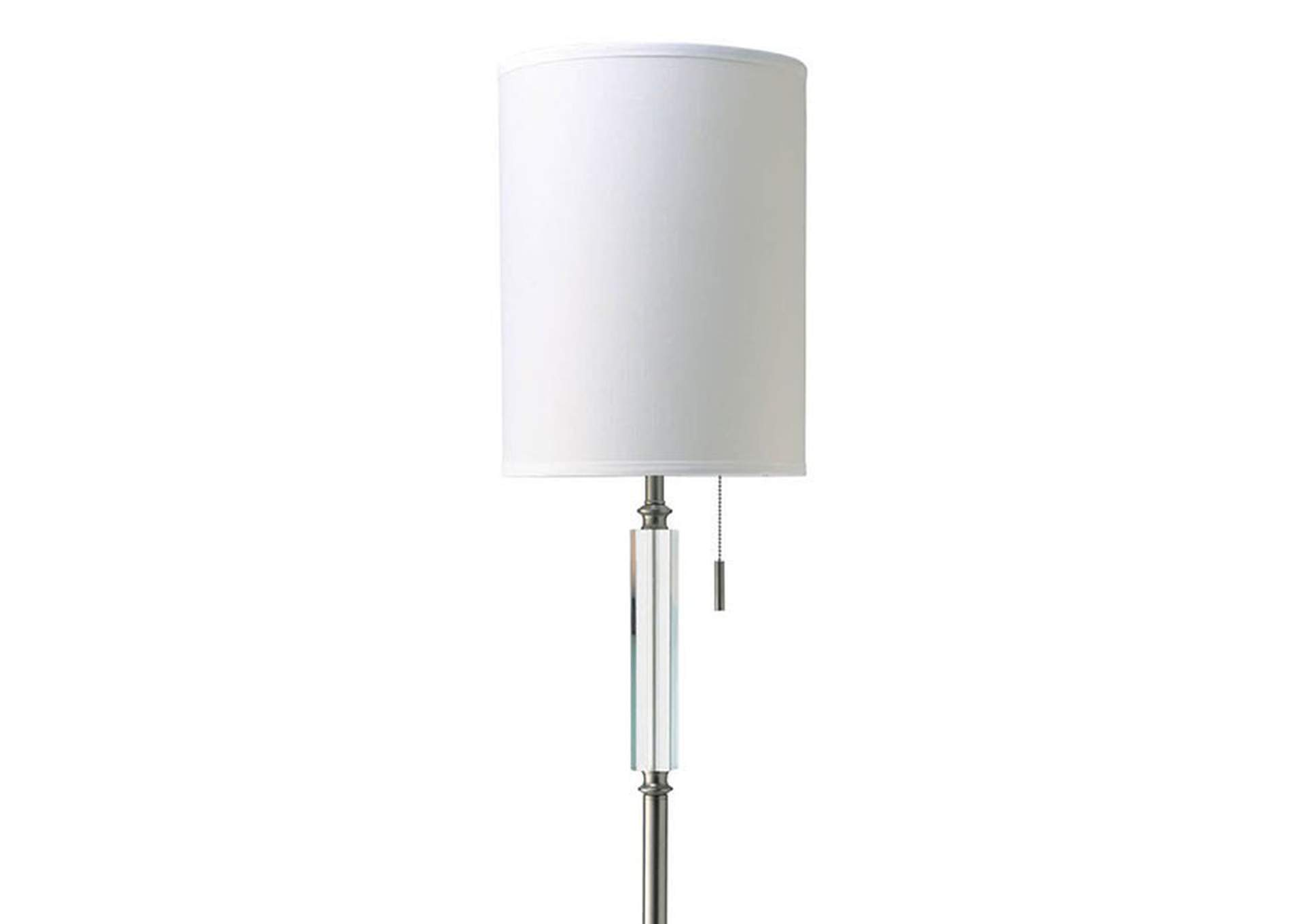 Aya White Floor Lamp,Furniture of America