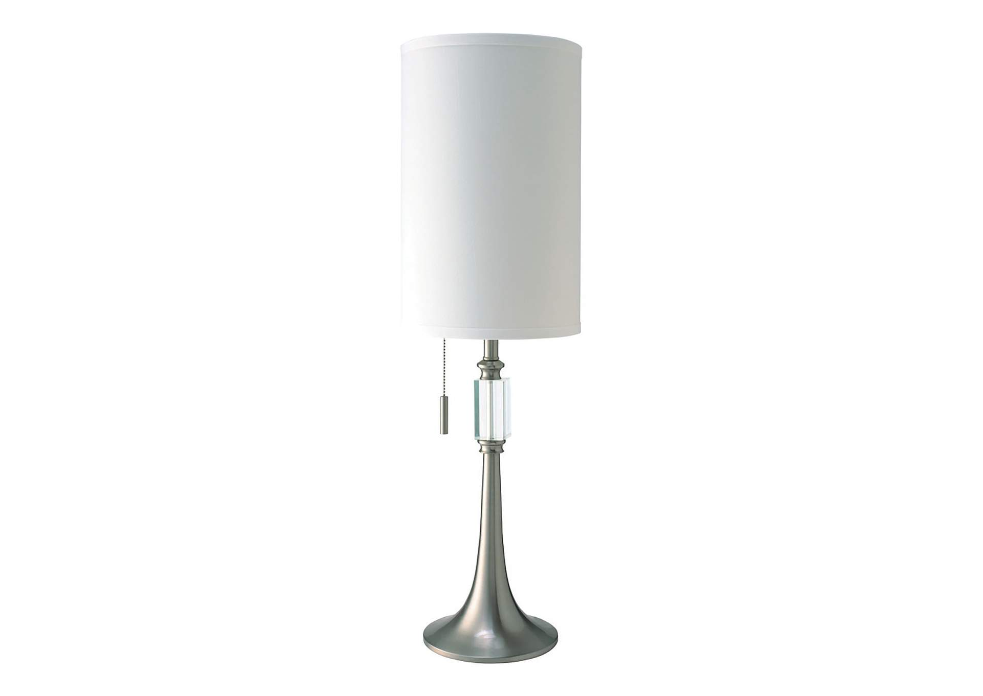 Aya White Table Lamp,Furniture of America