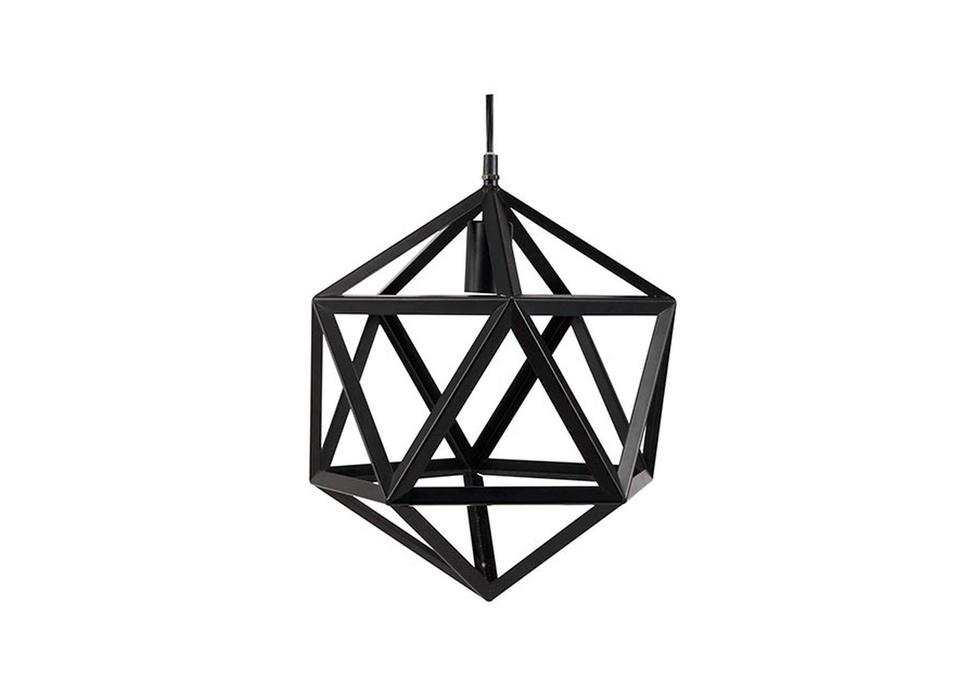 Mea Black Ceiling Lamp,Furniture of America
