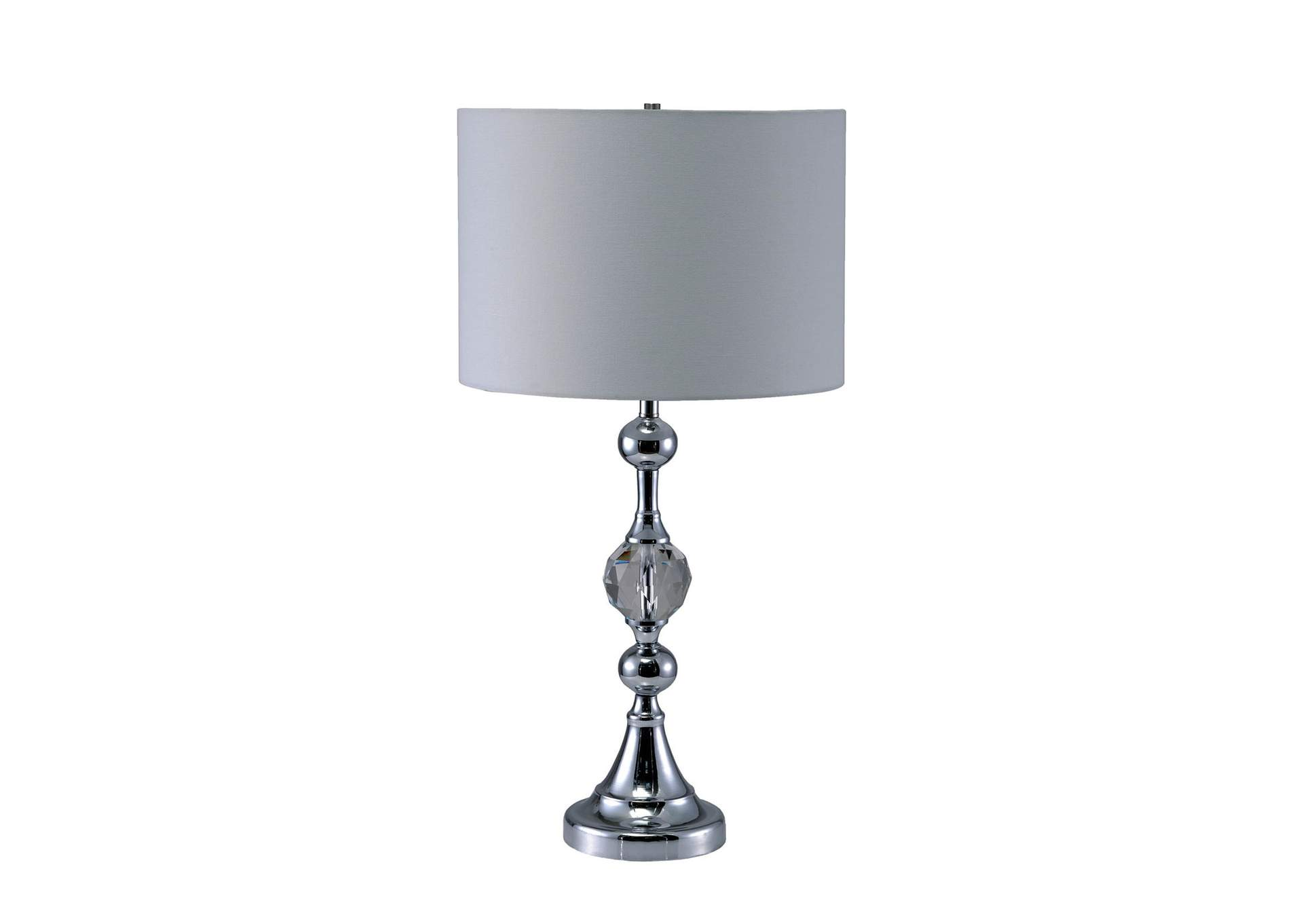 Emi White Table Lamp,Furniture of America
