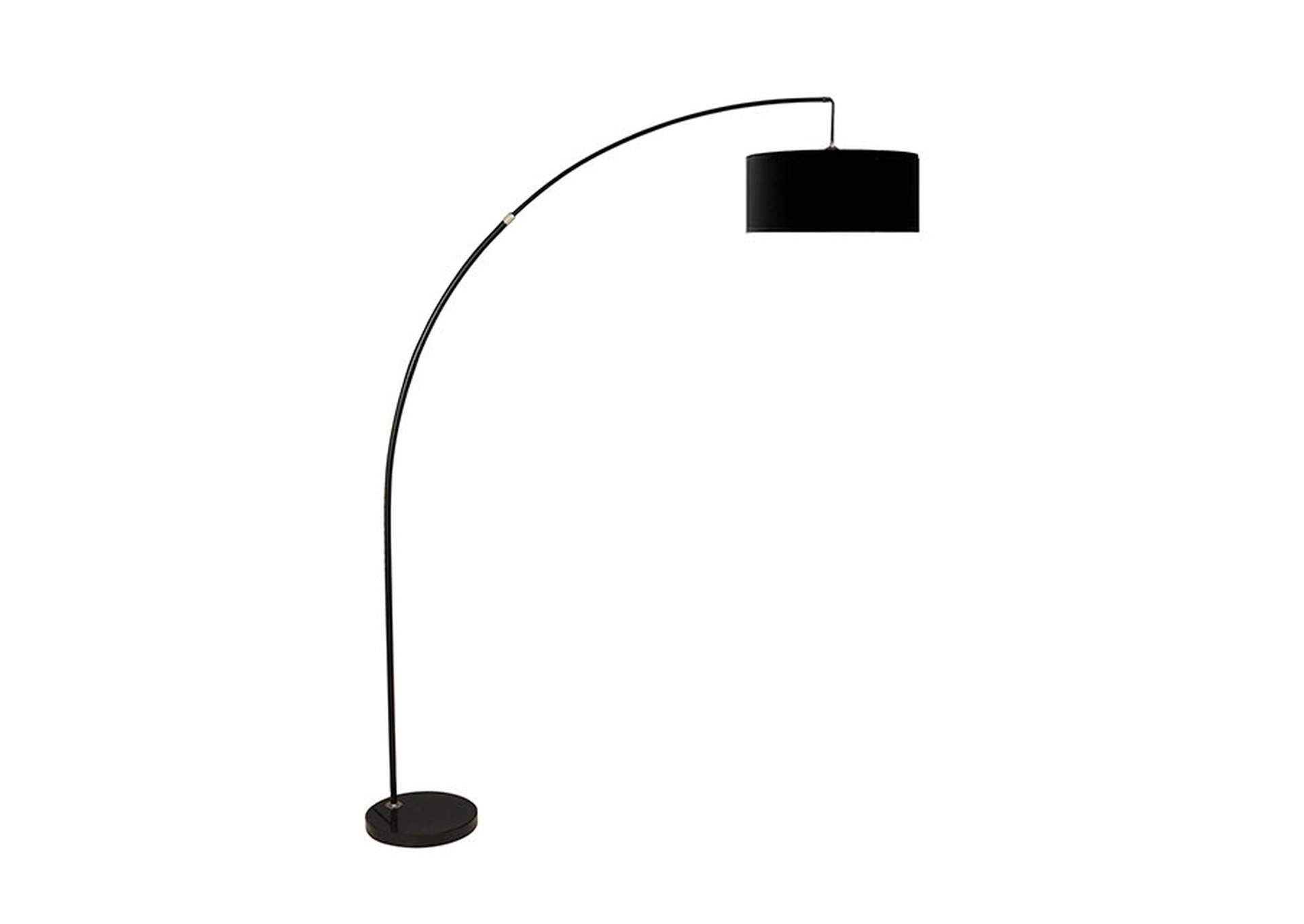 Jess Black Arch Lamp,Furniture of America