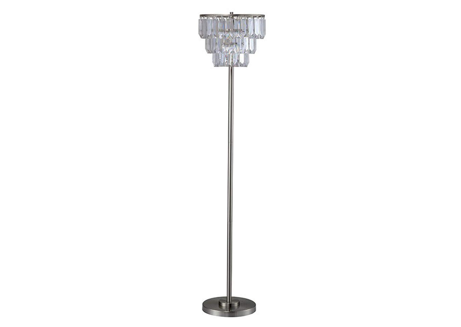 Meg Clear Floor Lamp,Furniture of America